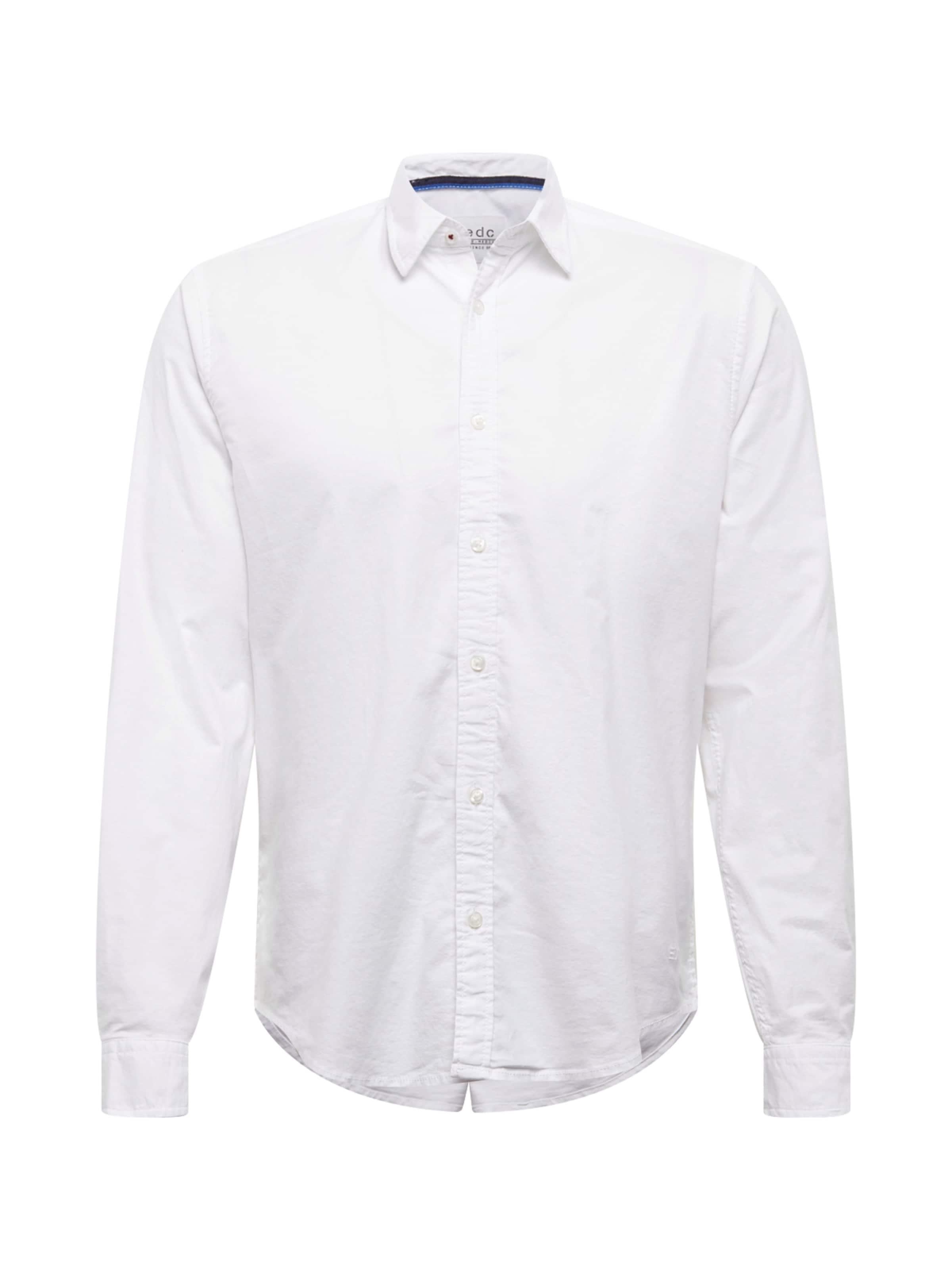 Blanc Solid Esprit Business ' By Chemise Edc En 'f Oxfd 35A4LRj