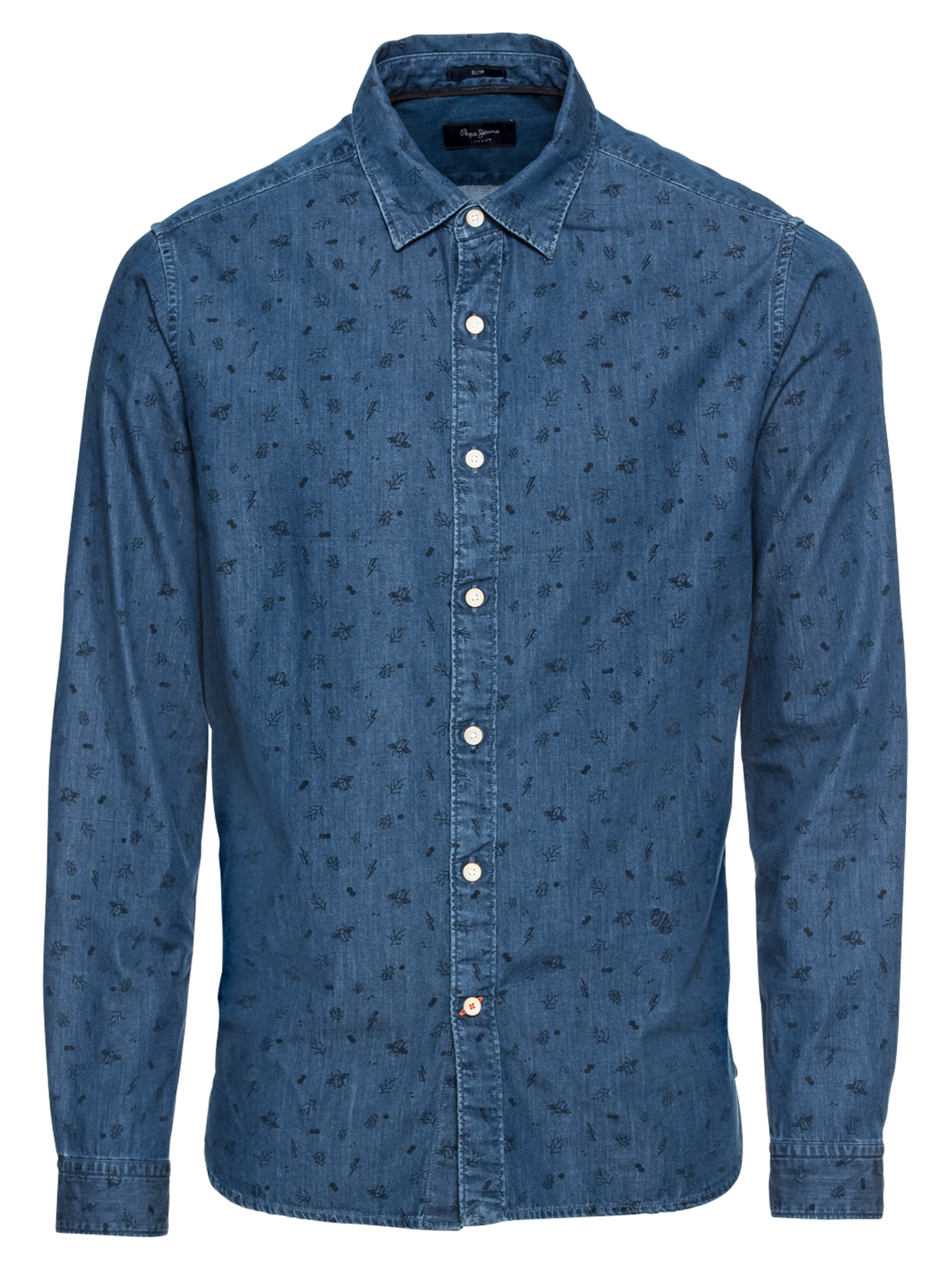 Jeans En 'harold' Chemise Denim Pepe Bleu EH9WIYD2