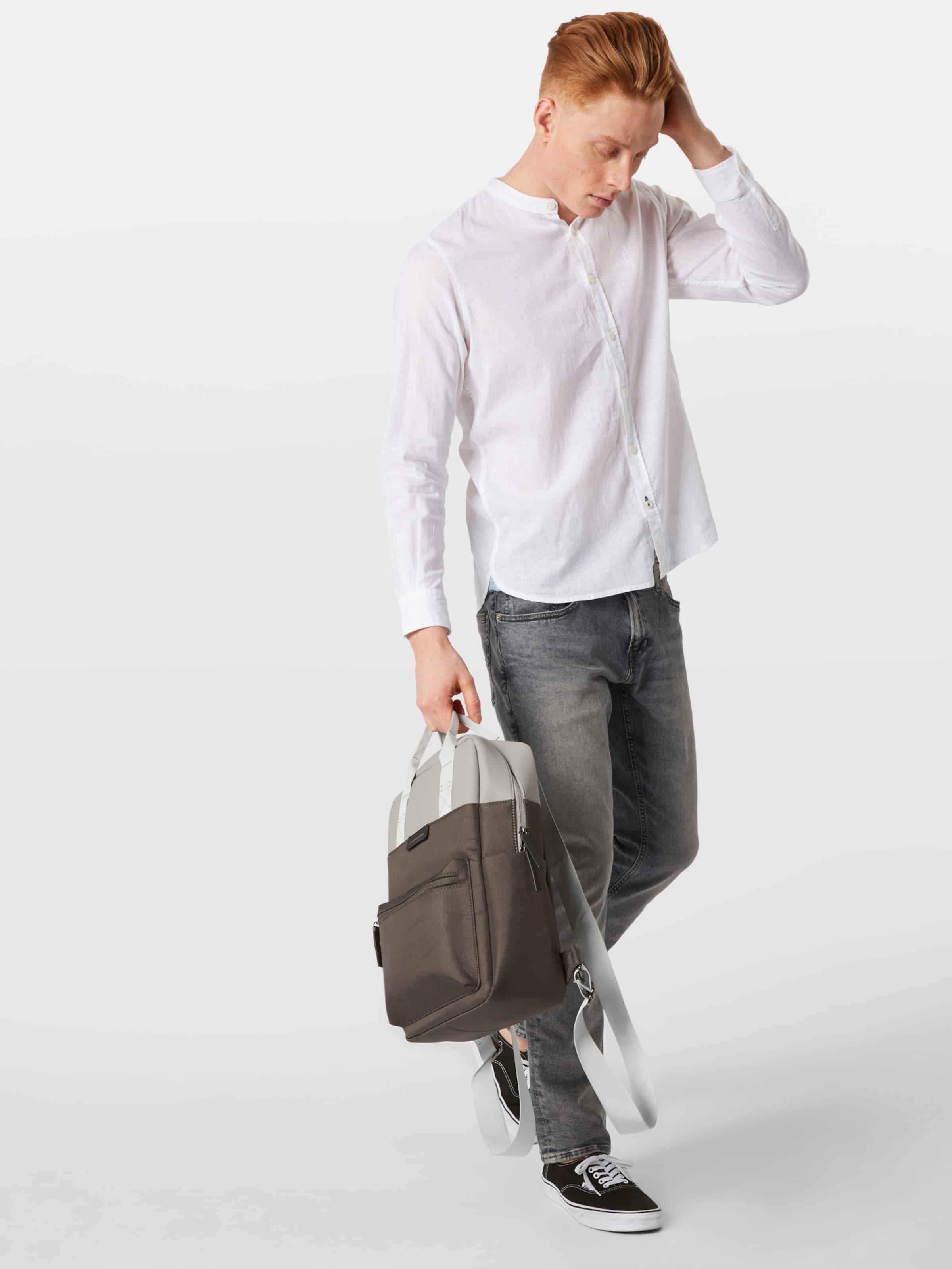 Tailor En Chemise Blanc Chemise Tom En Tom Tailor Blanc 8vmwOnNPy0