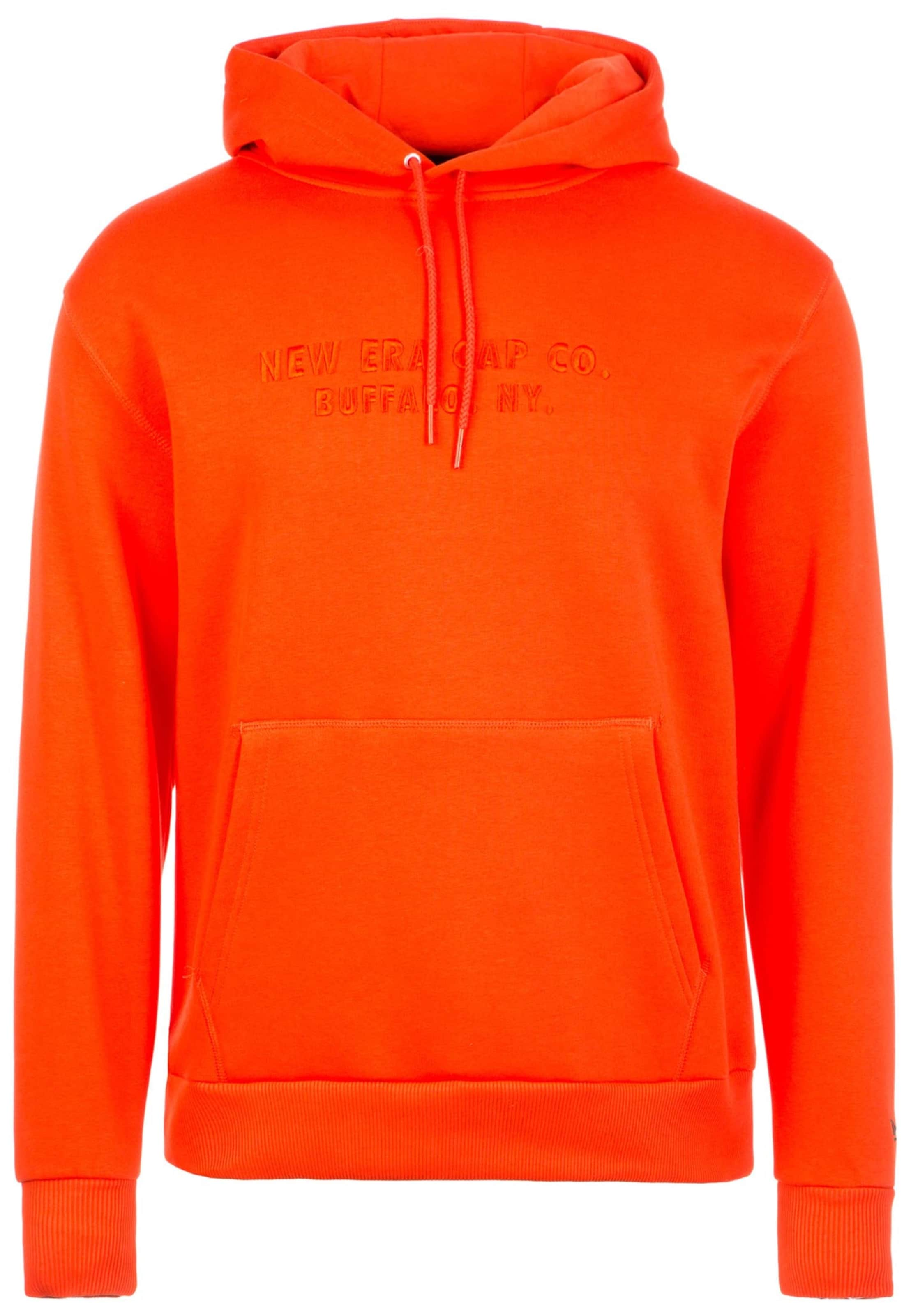 Era New Sweat En Foncé shirt Orange w8nO0vmN