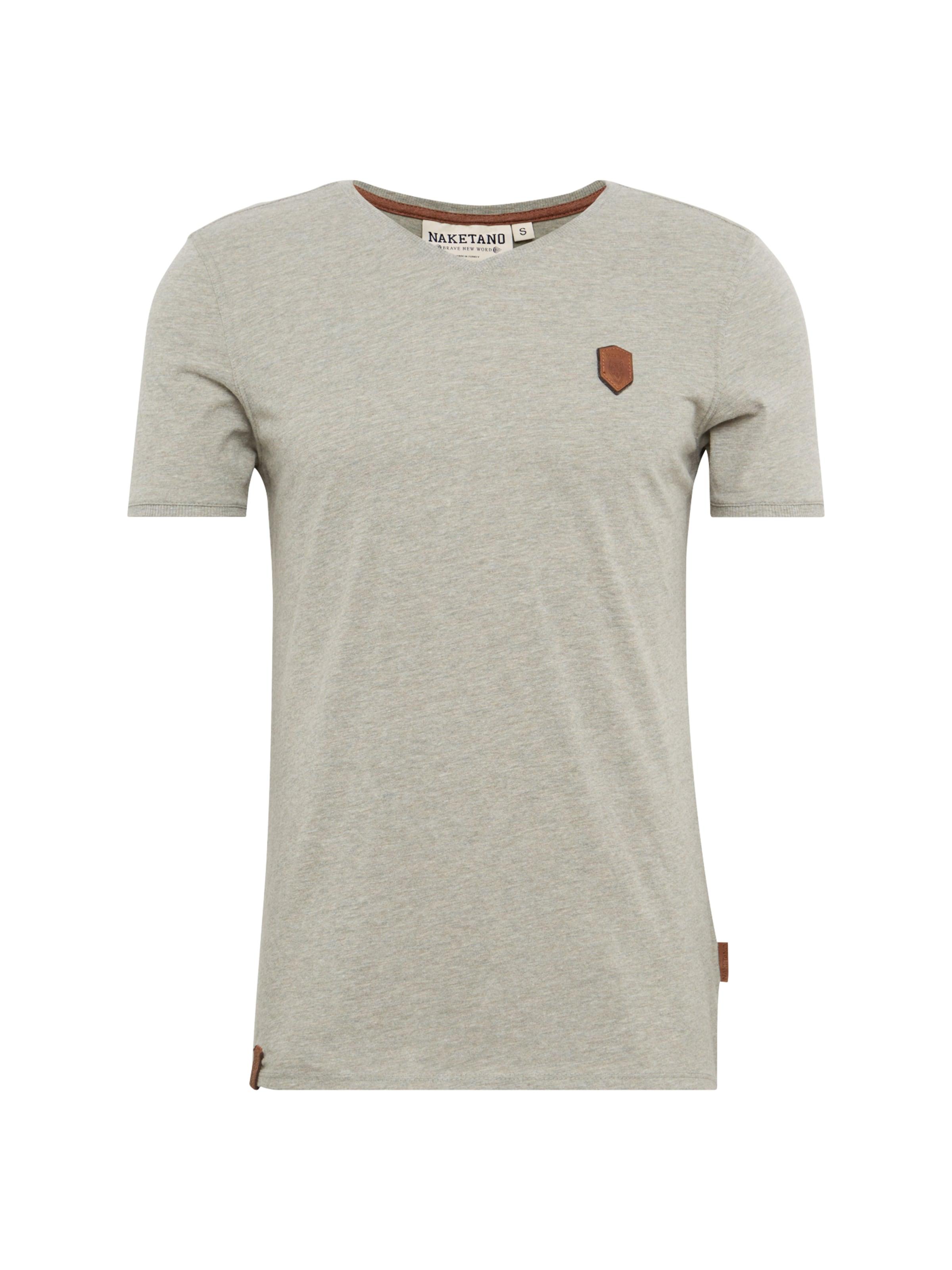 Naketano Foncé En shirt Gris T vONw0m8n
