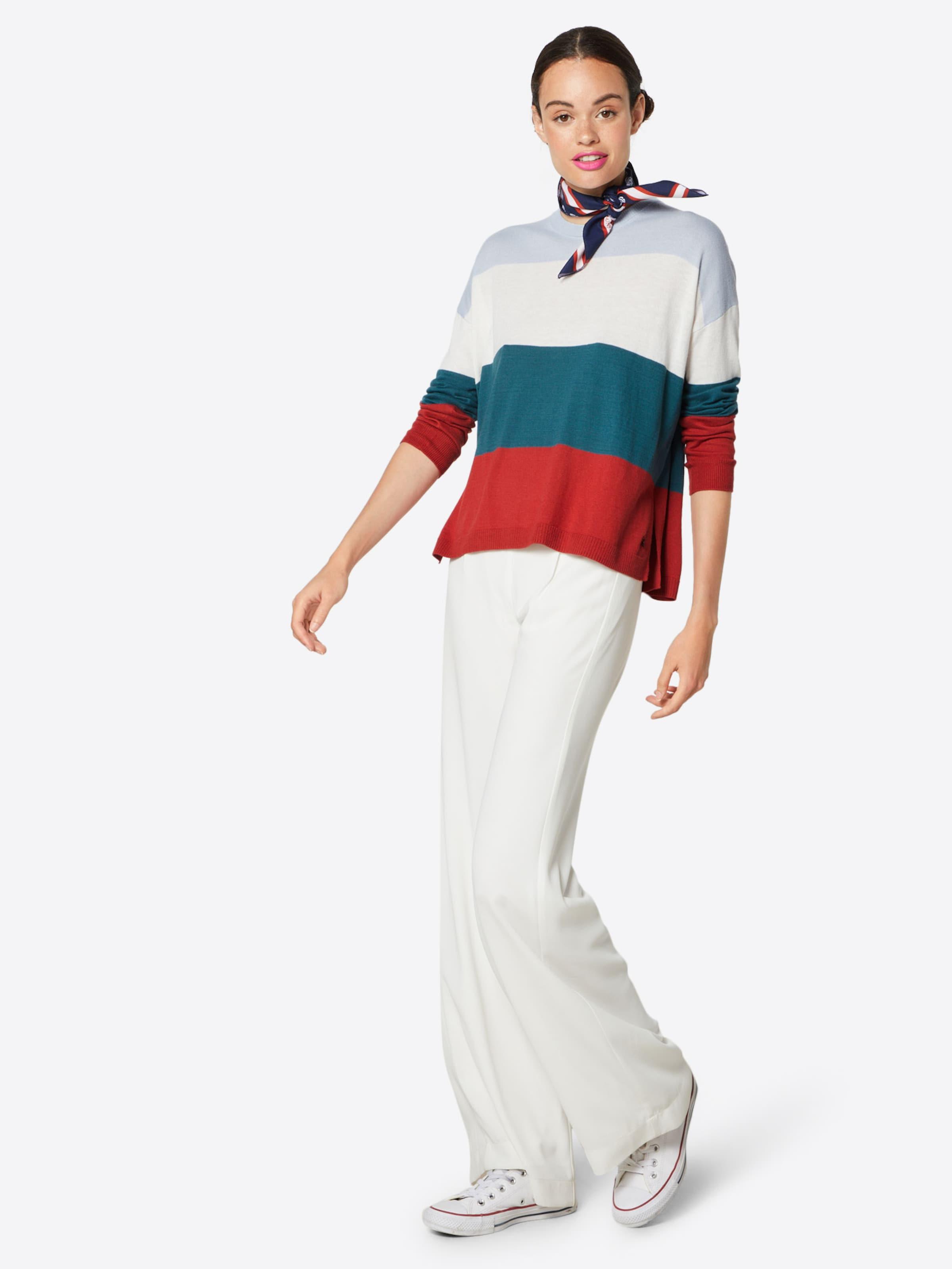 Pepe En Blanc Rouge Bleu ClairPétrole Pull 'mayas' Jeans over qjL4R53A
