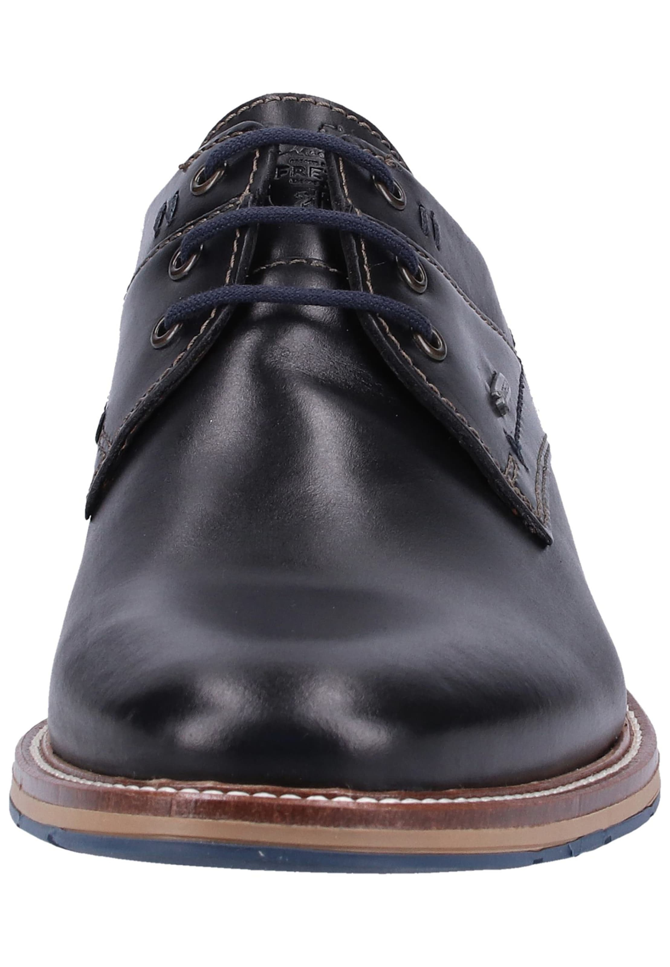 Fretz Men Chaussure Lacets À En Noir 6bgyf7
