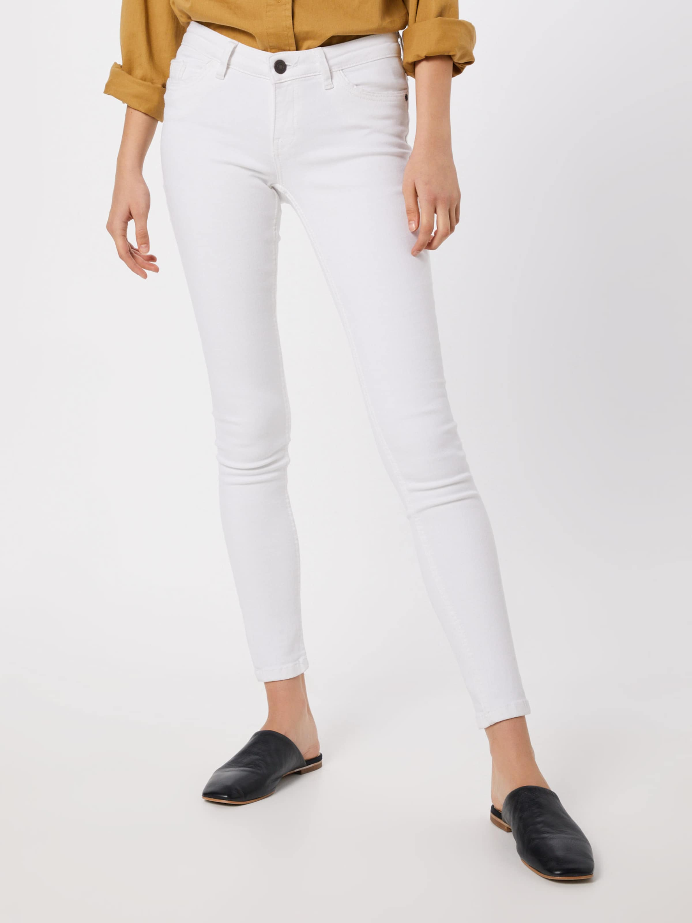 May Blanc 'eve Jean Piping Jeans White En Lw Noisy Pckt Noos' 8O0wPnk