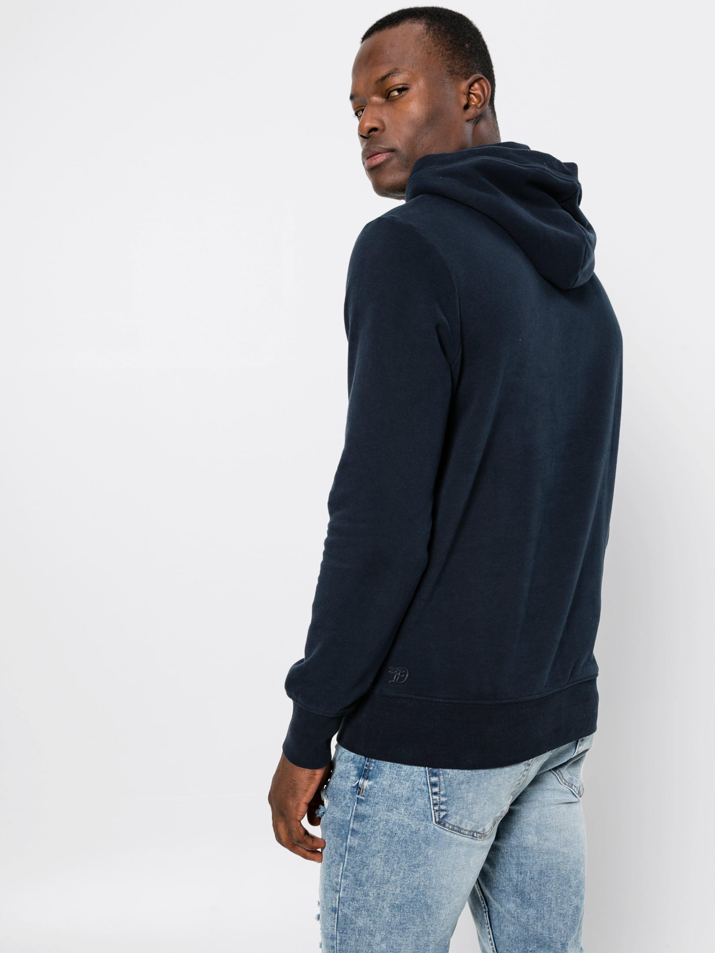 Tom Vert Tailor En Sweat Denim shirt FoncéRouge Nyw8mnv0O