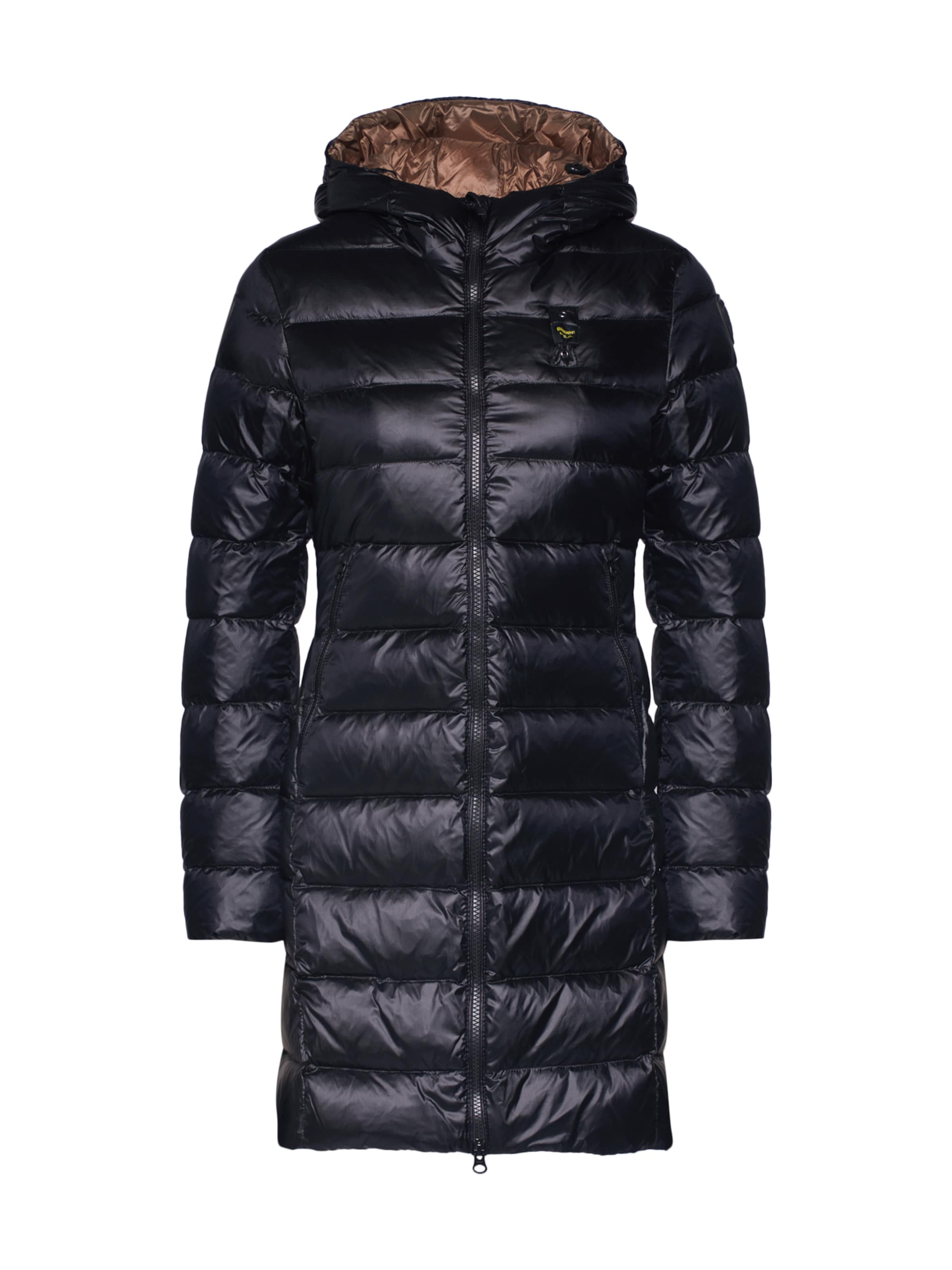 Foncé Vert 'lunghi D'hiver Imbottito usa Blauer Manteau En Piuma' wOn80kP