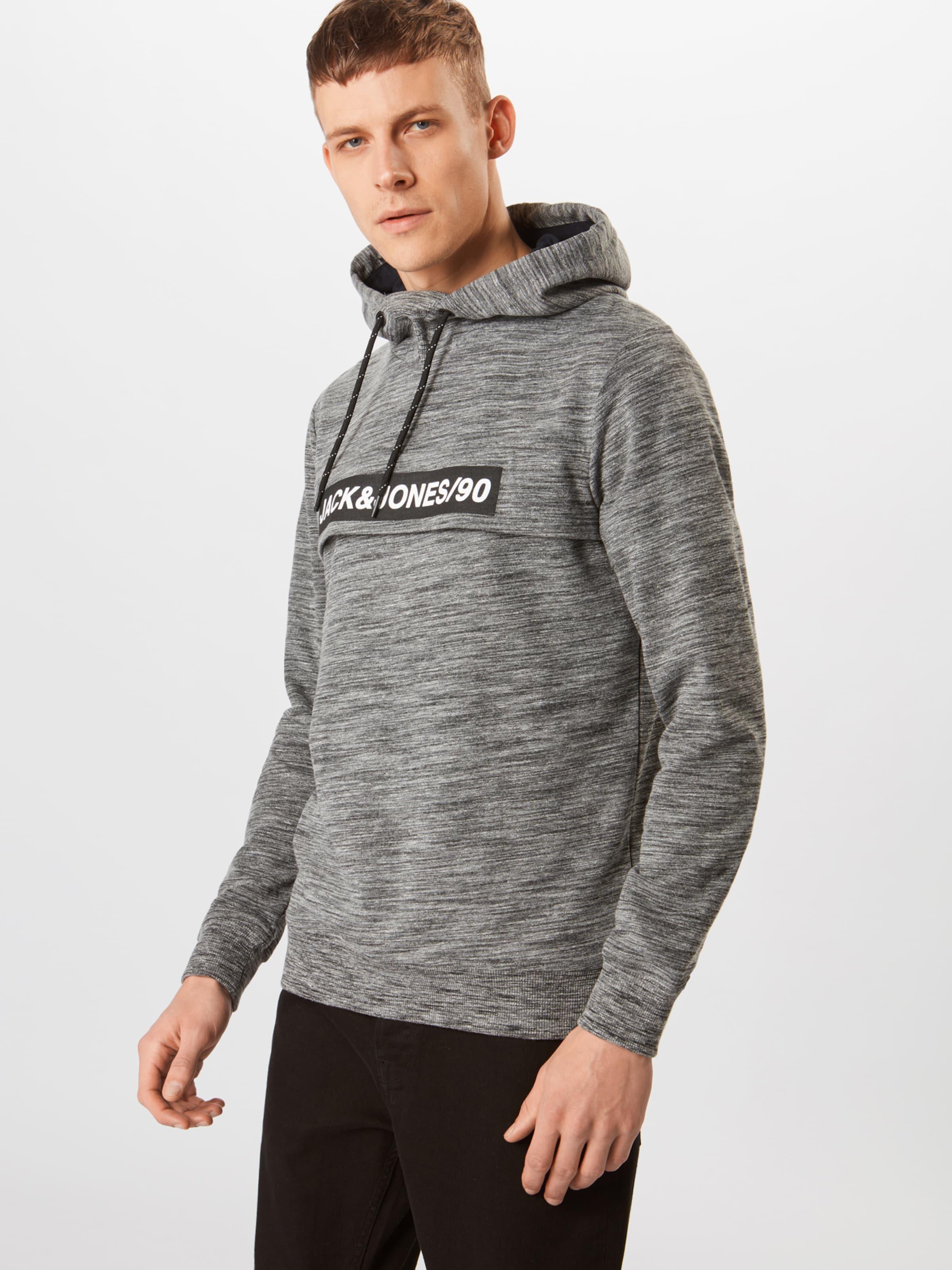 Sweat shirt 'alex' En FoncéNoir Jackamp; Gris Jones 4S5RjAqc3L