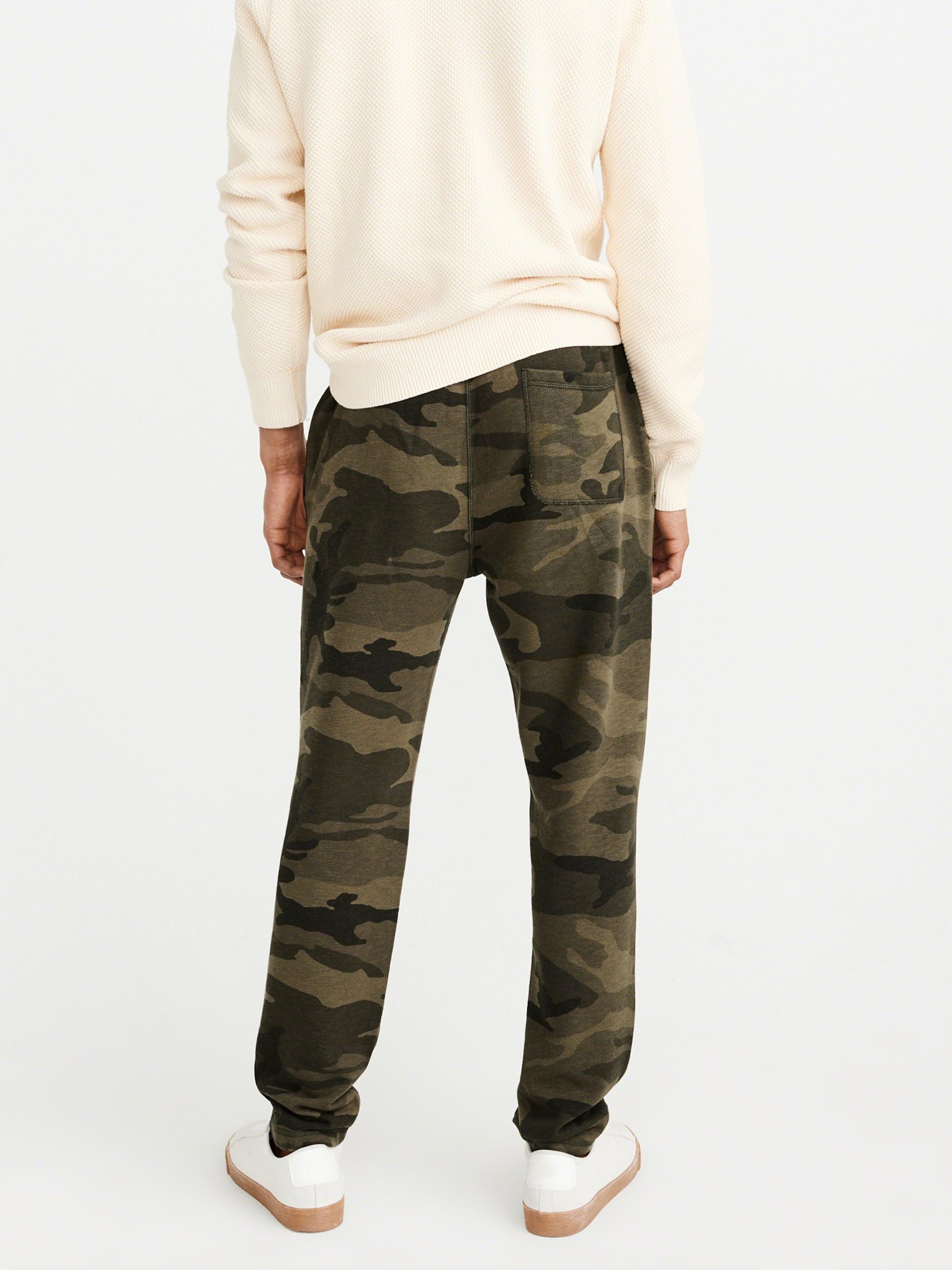 Olive Logo Pant Camo' Abercrombieamp; Fitch Classic Pantalon En 'forever vm8wN0n
