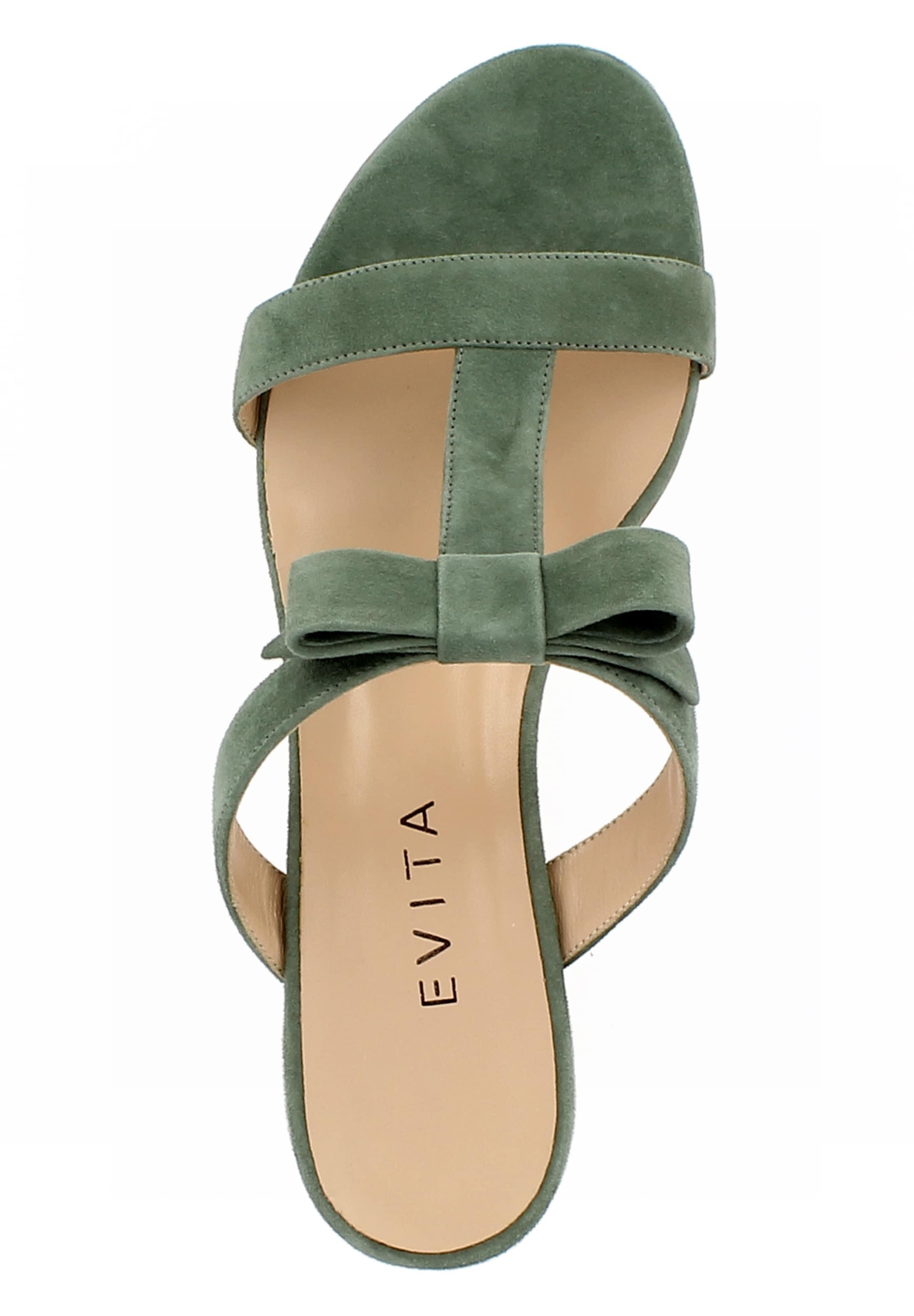 Mule Evita 'daria' Olive Mule En 'daria' Olive Evita Mule 'daria' En Evita lOPuTwkXZi