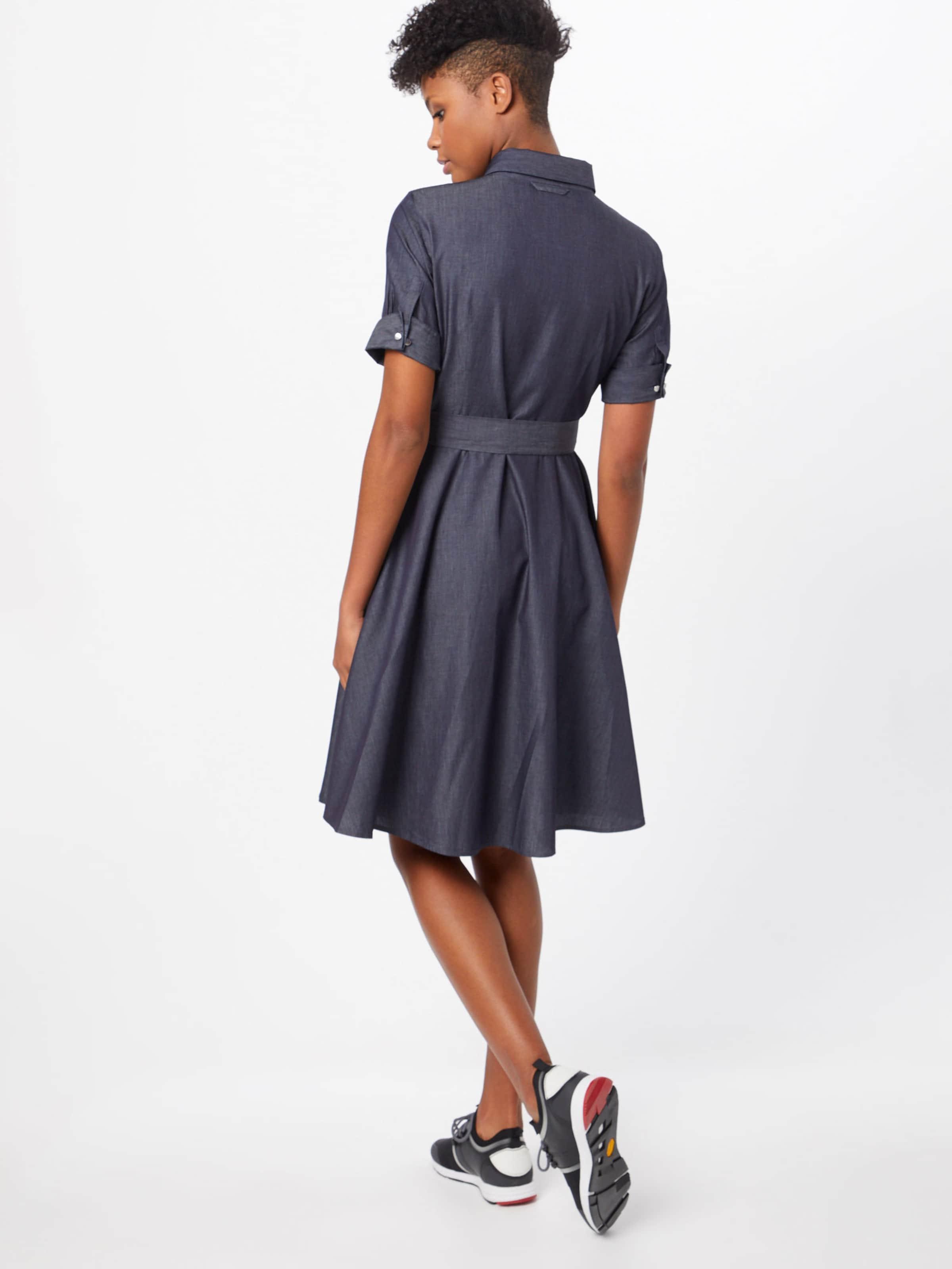 En Hugo Bleu 'ekalia' chemise Robe rxCshQtd
