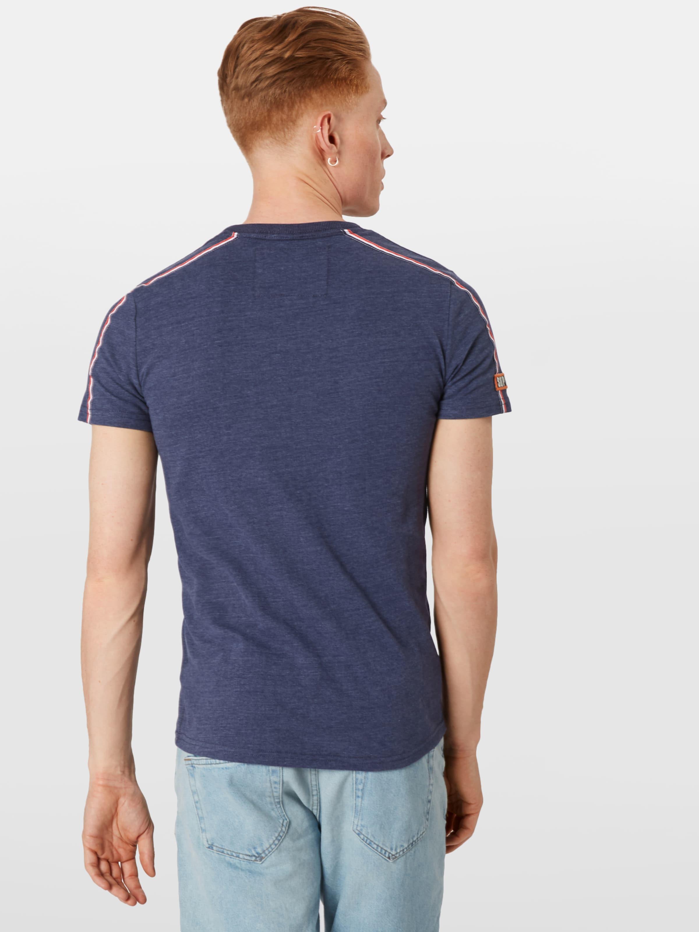 shirt 'custom Classics En Superdry T BleuBlanc Tee' dWroCxBe