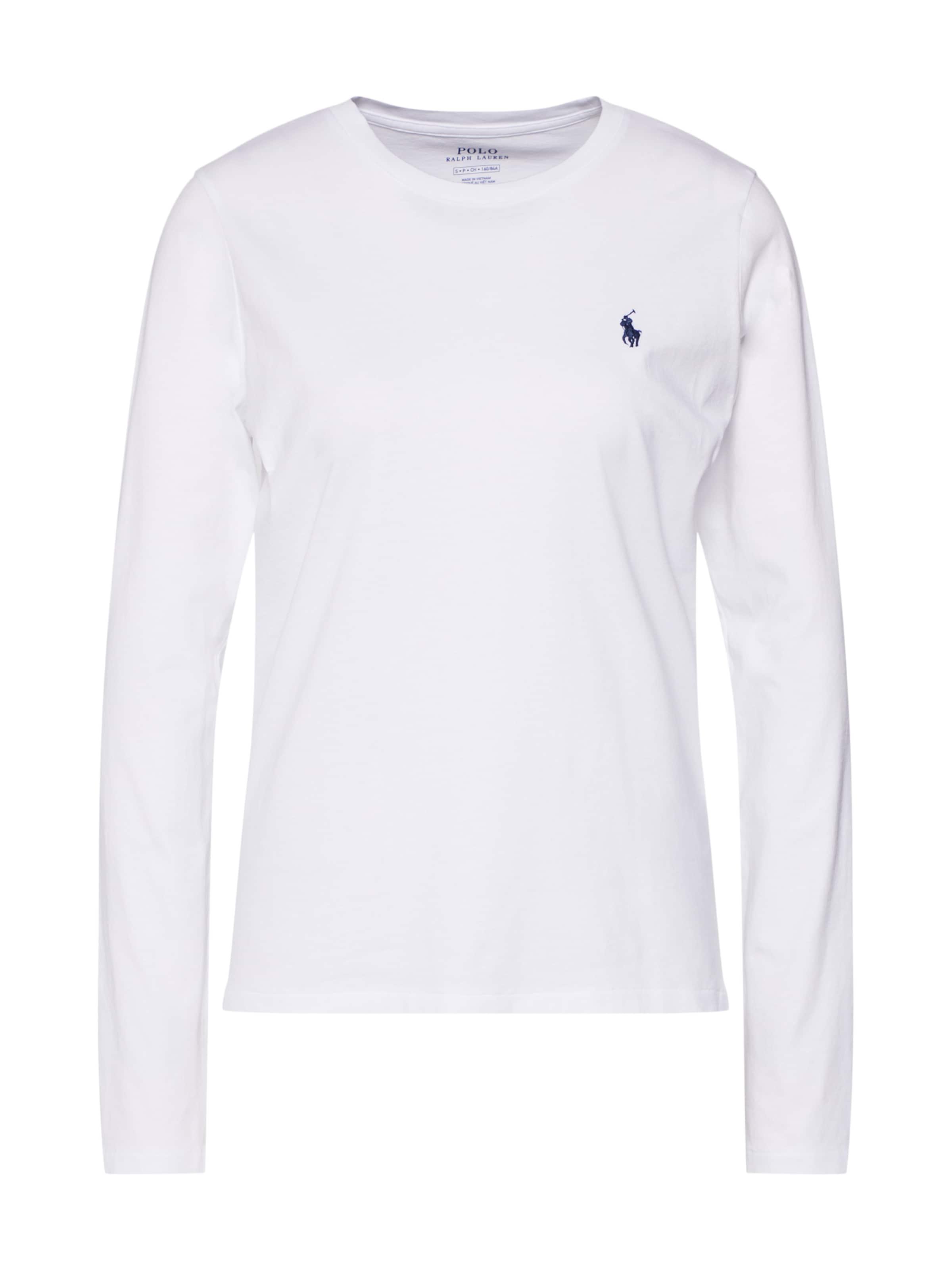 En shirt 'ls T Pp W Polo Lauren Blanc knit' long Ralph T Sleeve CoexBdrW