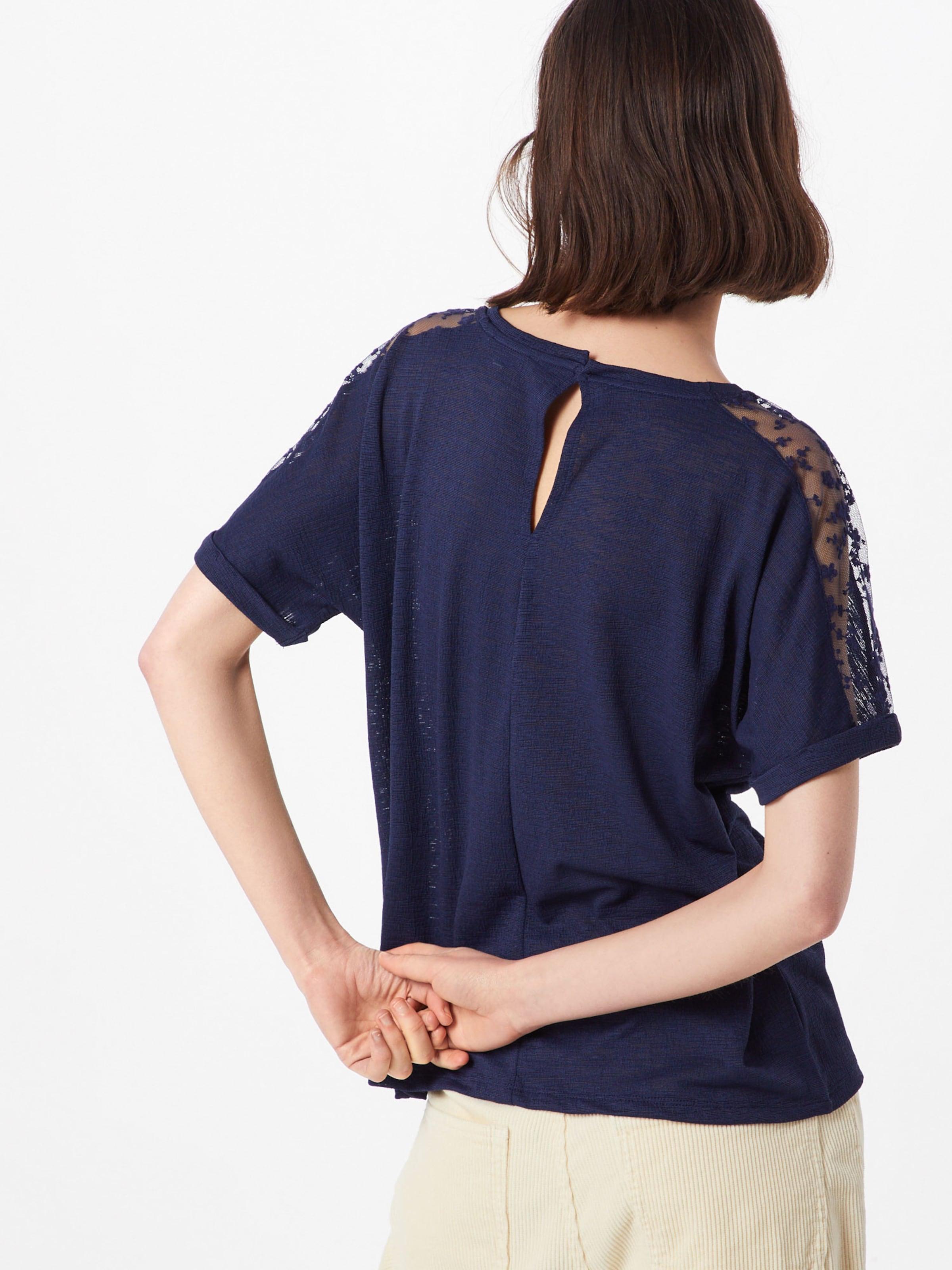 Tailor Foncé Tom Denim En T Bleu shirt E9WDHI2