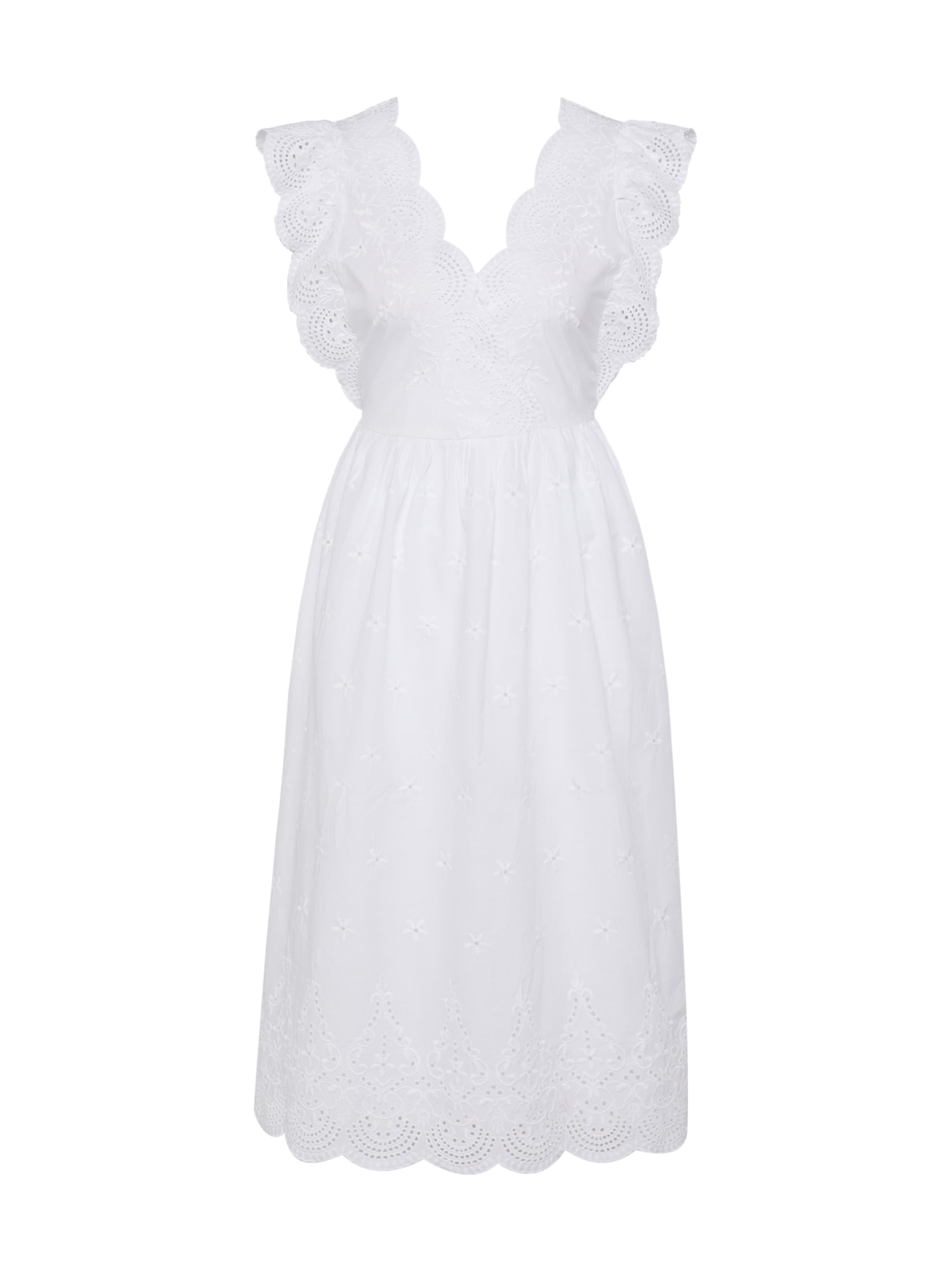 Blanc D'été Gap Robe En Cassé Y6vIbyf7g