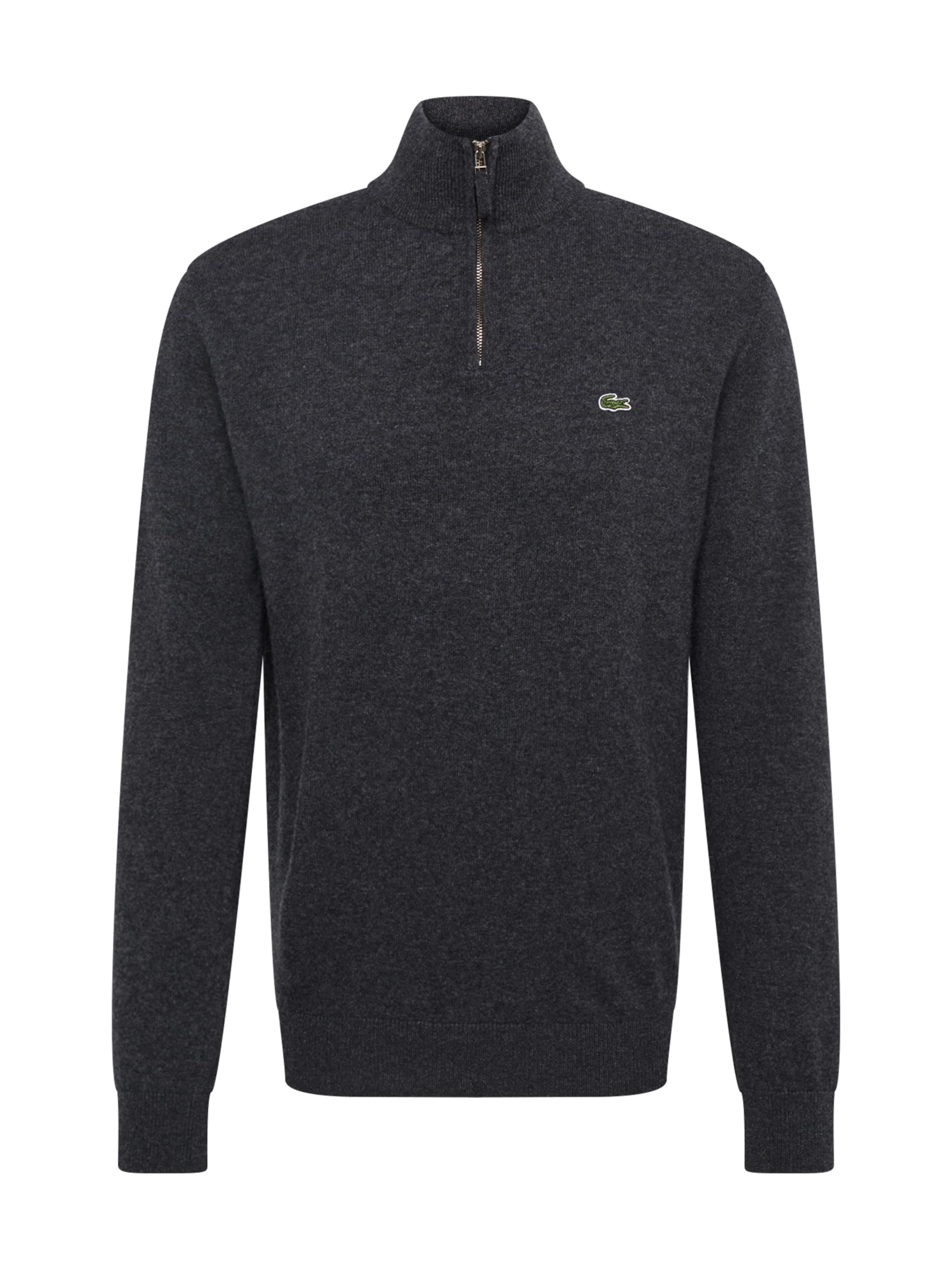 Pull Demi 'tricot CrèmeMarine Lacoste Montant Gris over En Col z' I7vbyYf6g