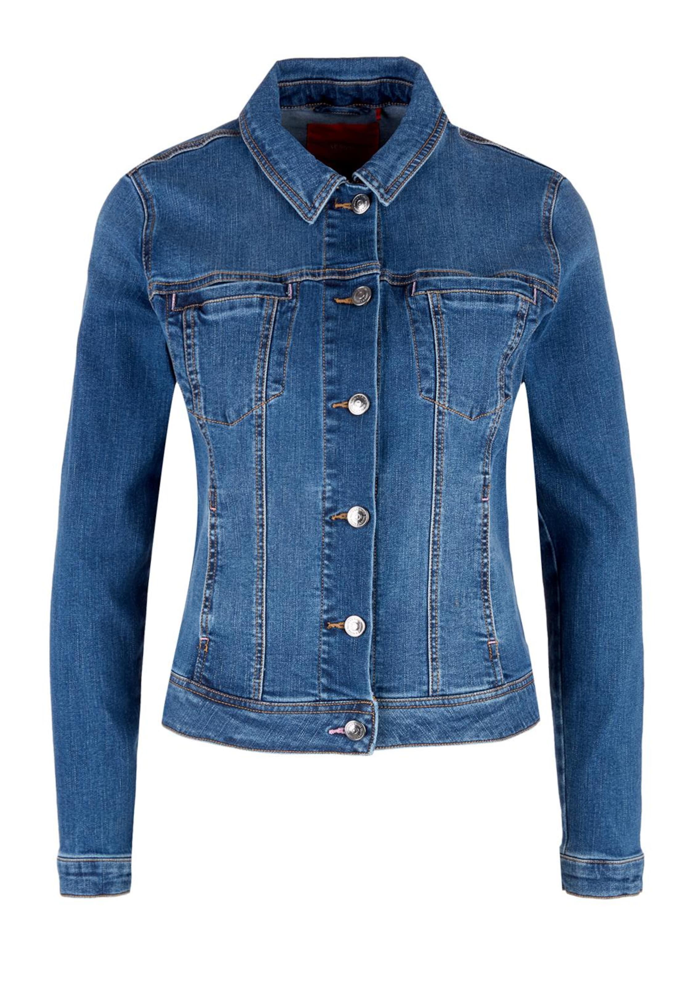 Blau Label S In oliver Red Jacke 4RjA5L