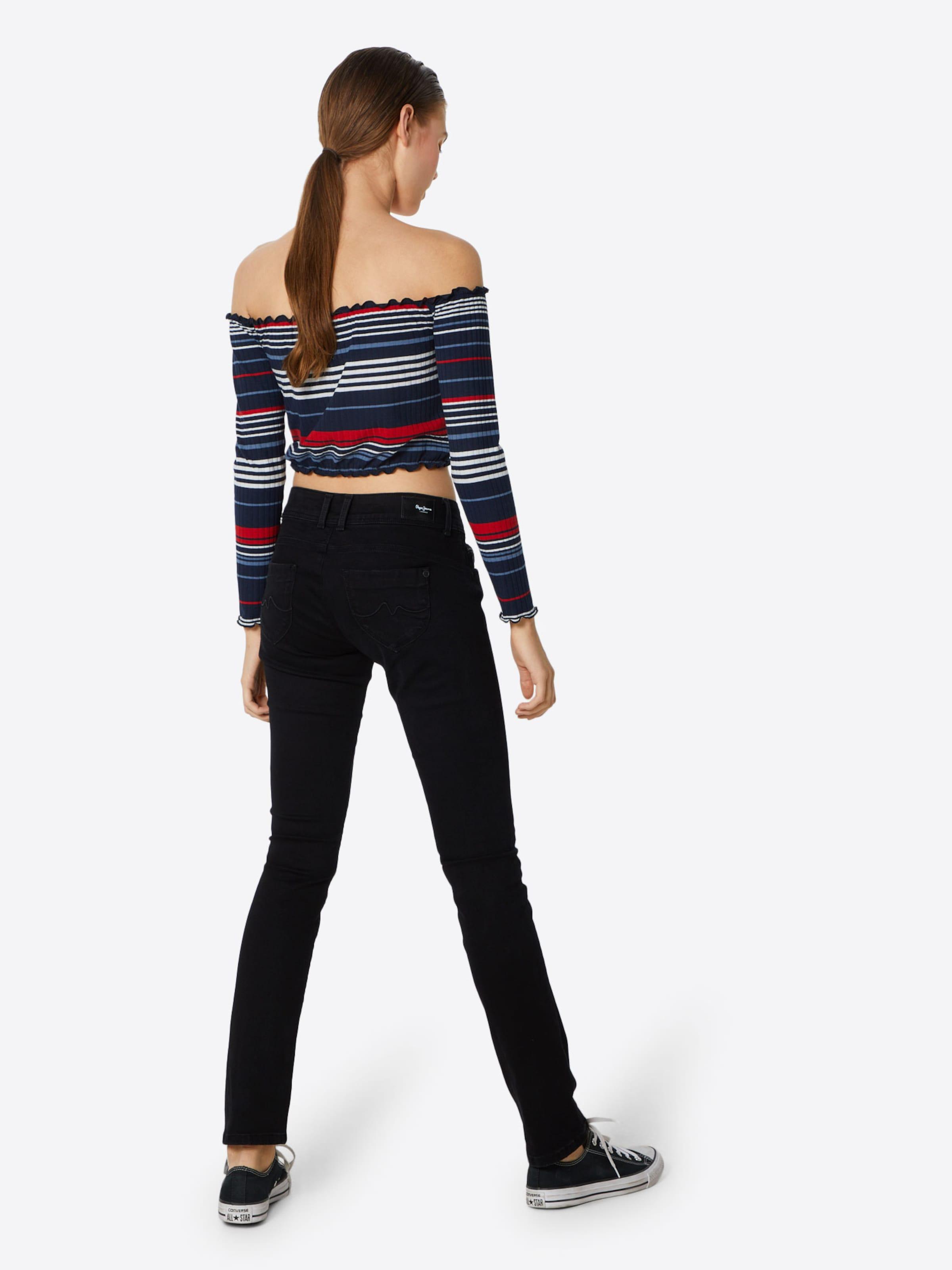 Jeans In Black Brooke' 'new Pepe Denim AR5jL4