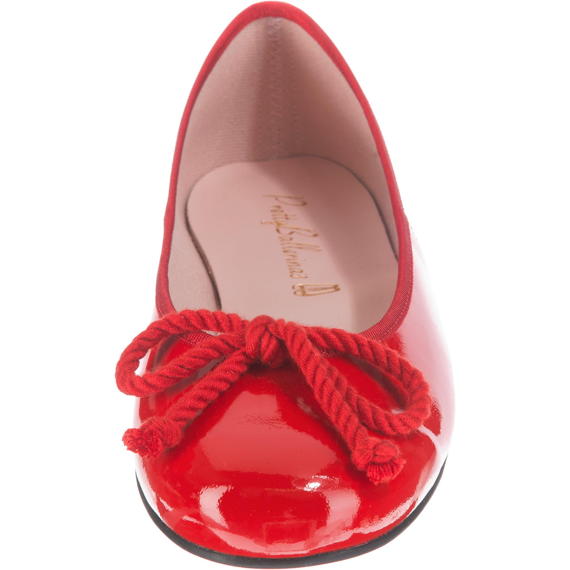 Ballerinas Ballerinas Klassische In Rot Pretty Pretty zqMSVUp