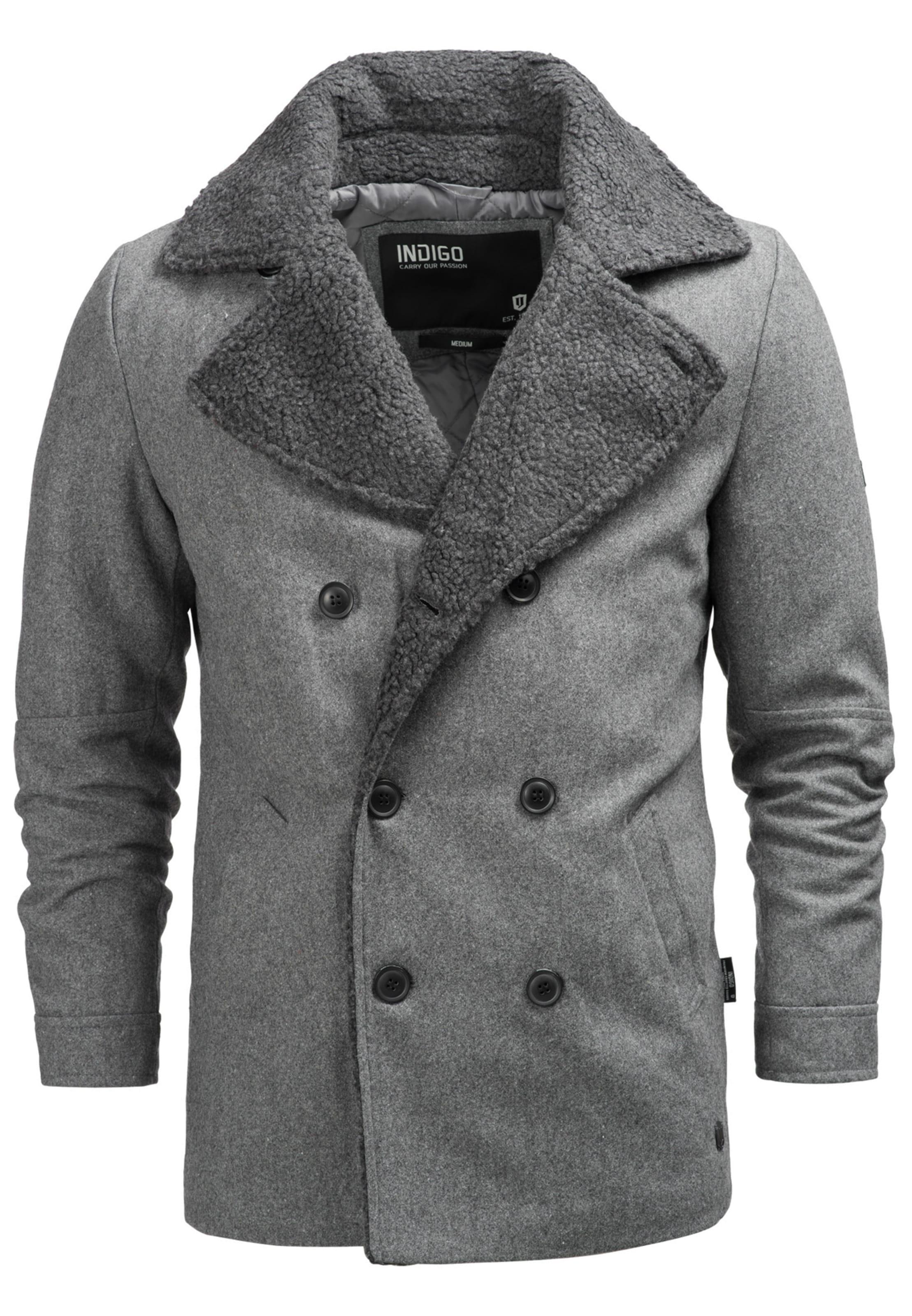 D'hiver Indicode Jeans Manteau 'basire' En Gris m0yNOwv8n