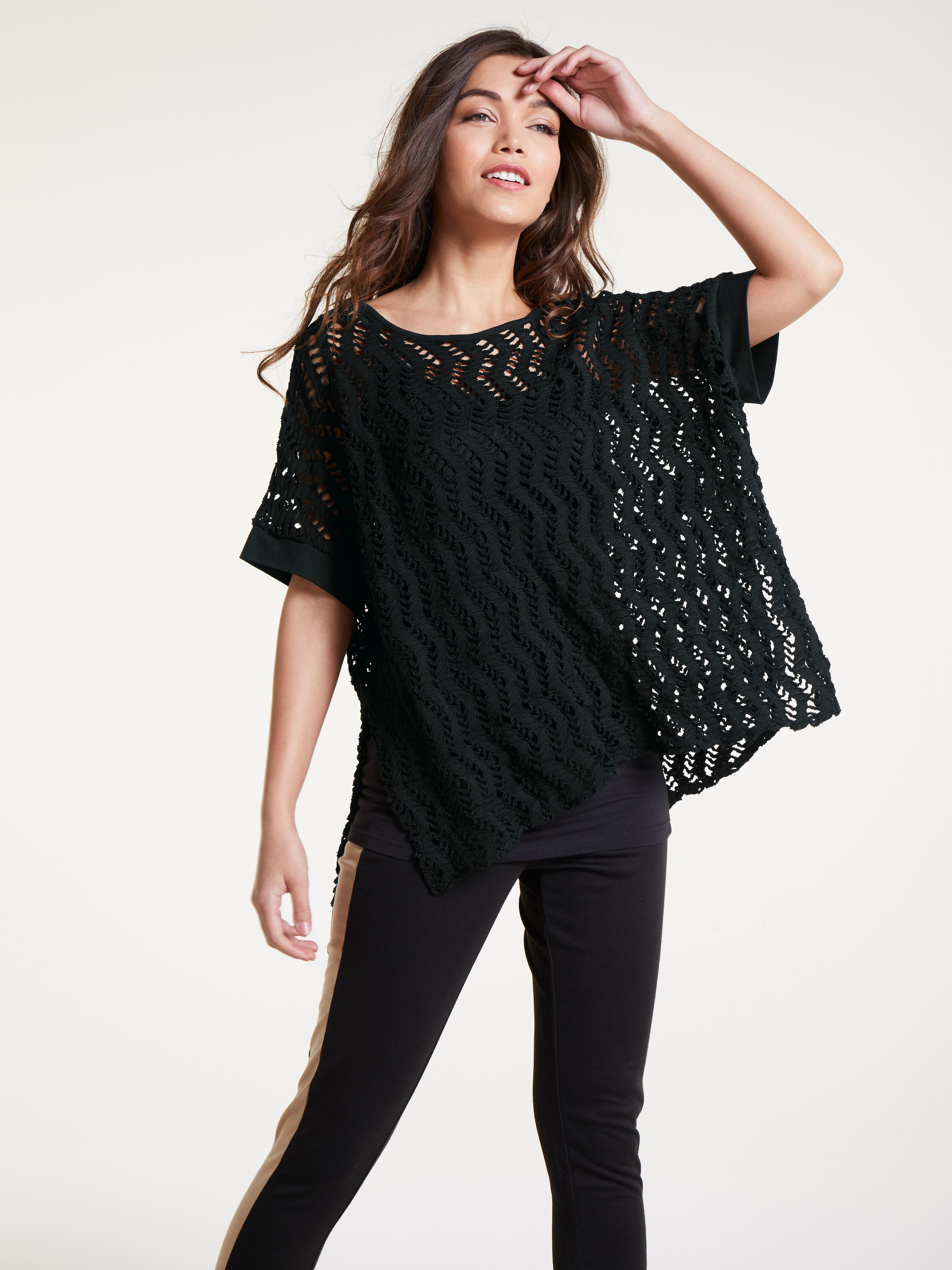 'casual' Schwarz Pullover In Heine WrdoeQCxB