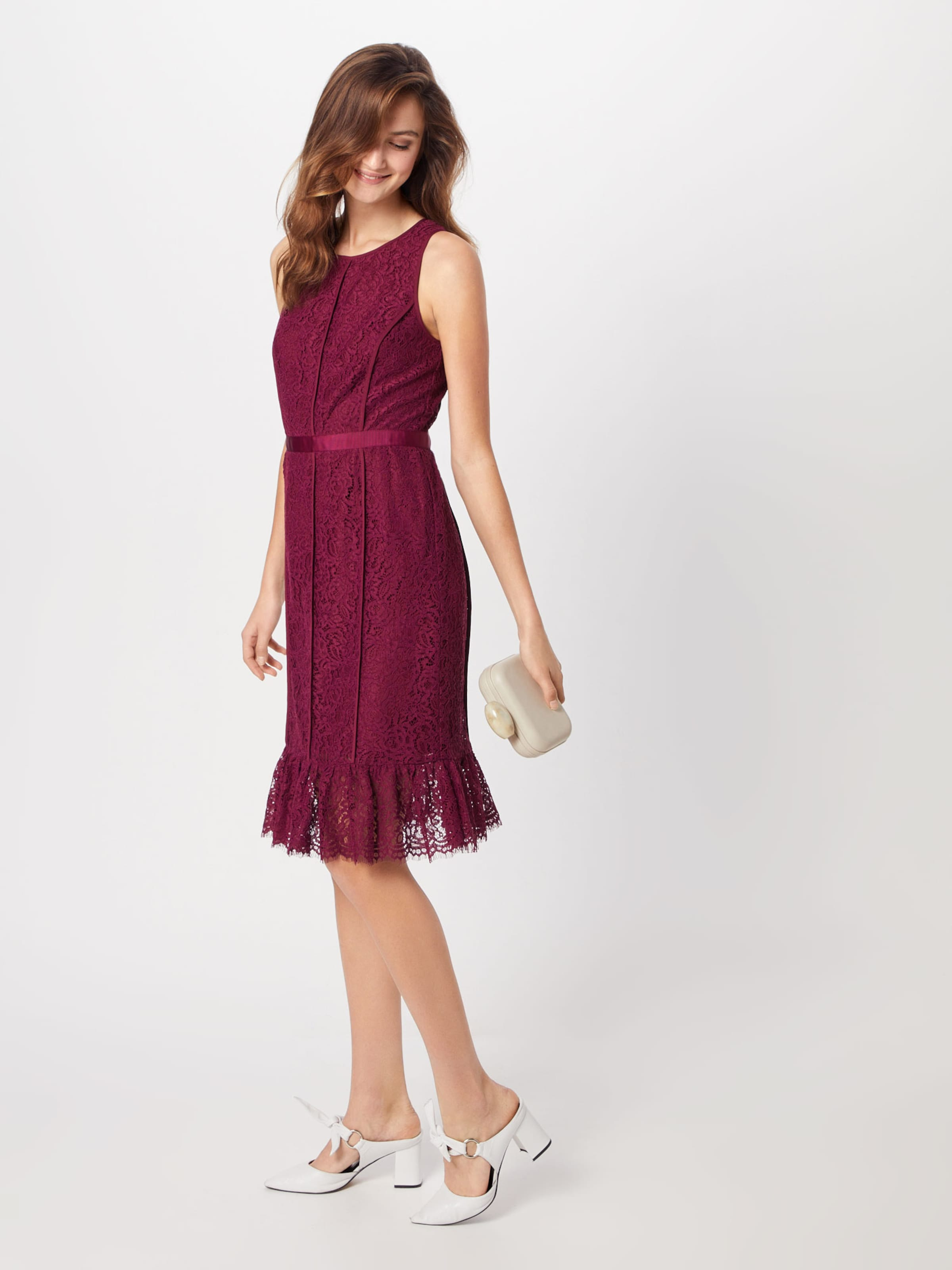 Banana Republic 'sl Dress' Robe En Racer Lace Bourgogne CWxrdBoeEQ