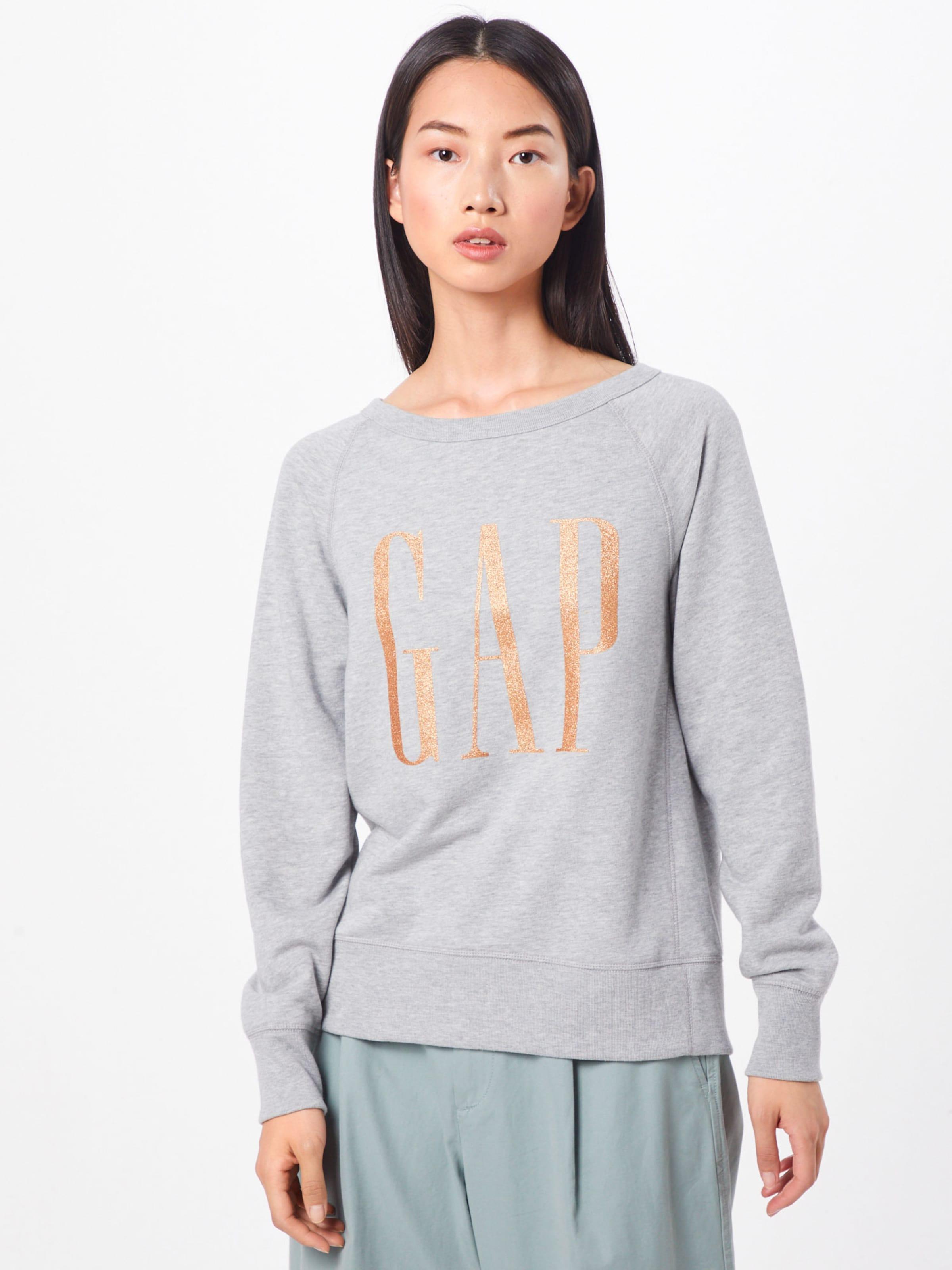Gap Po' En 'glitter Chiné Sweat shirt Gris N8nZwP0kOX