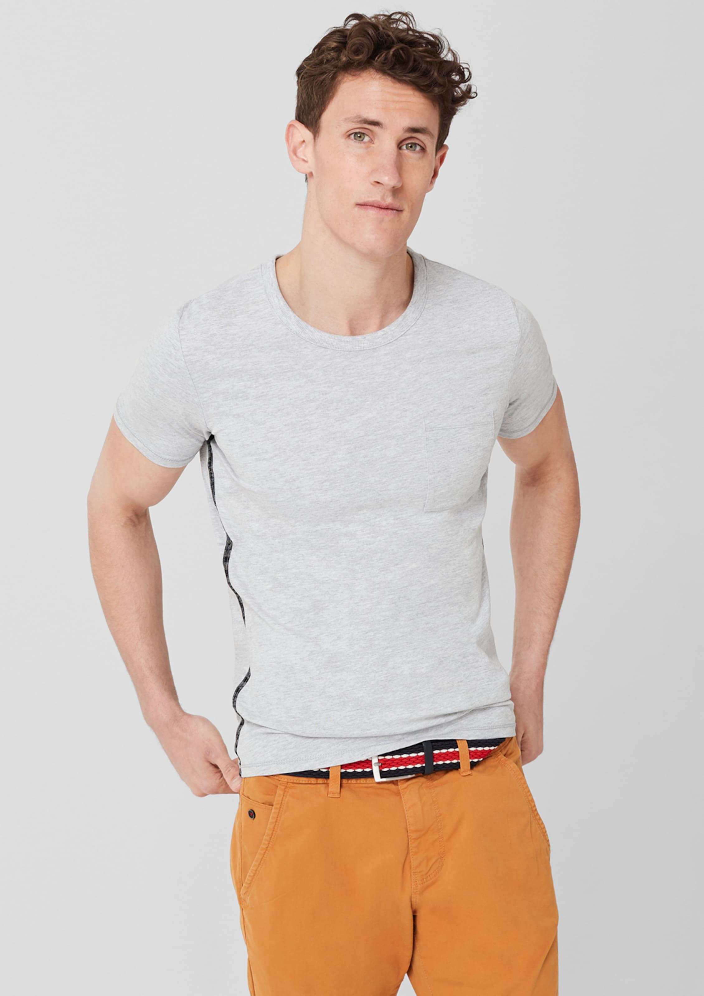 S In oliver Red T Label Grau shirt 0Nnwm8