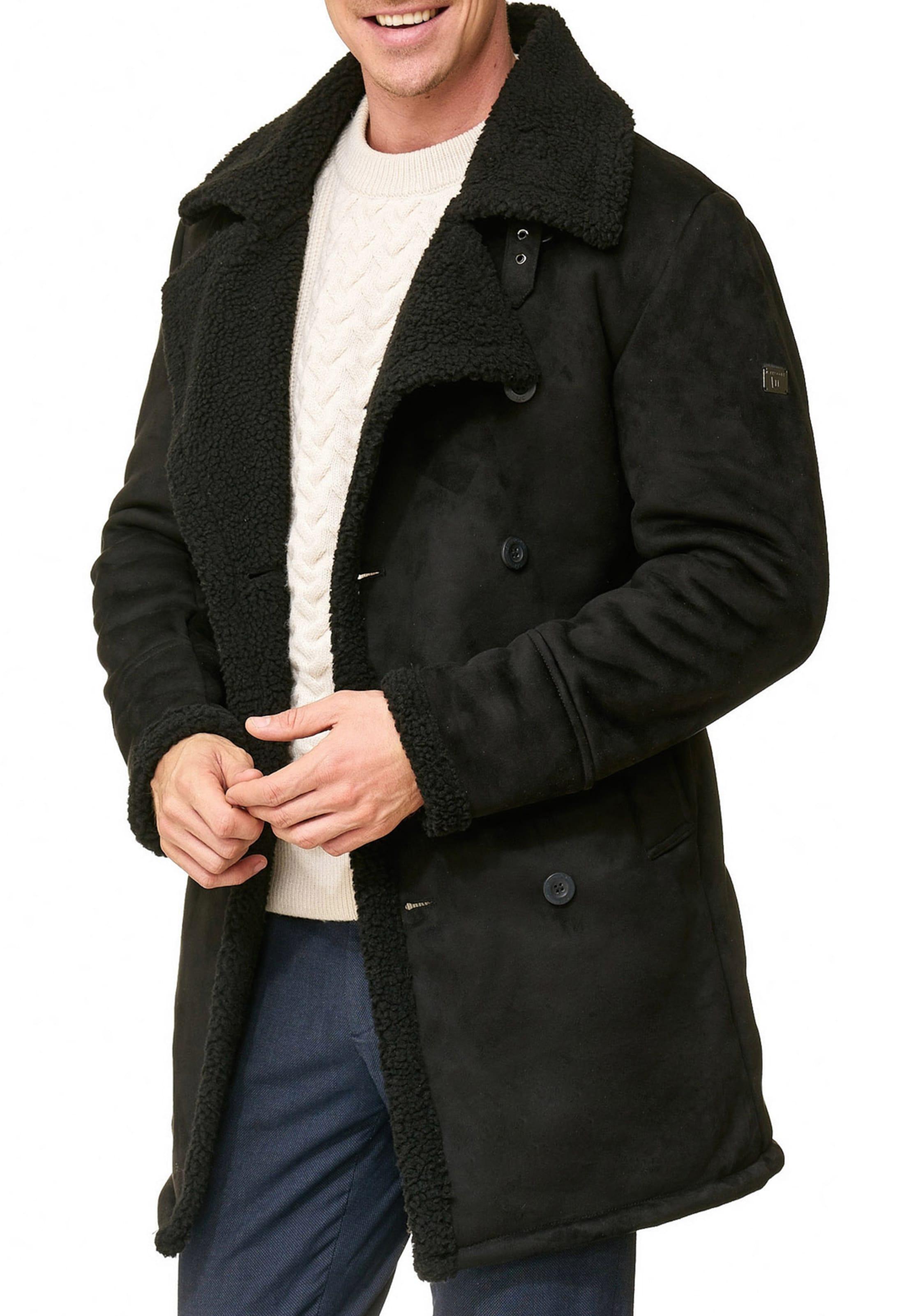 Indicode Mi saison Manteau 'barlow' En Noir Jeans WYe2bHE9ID