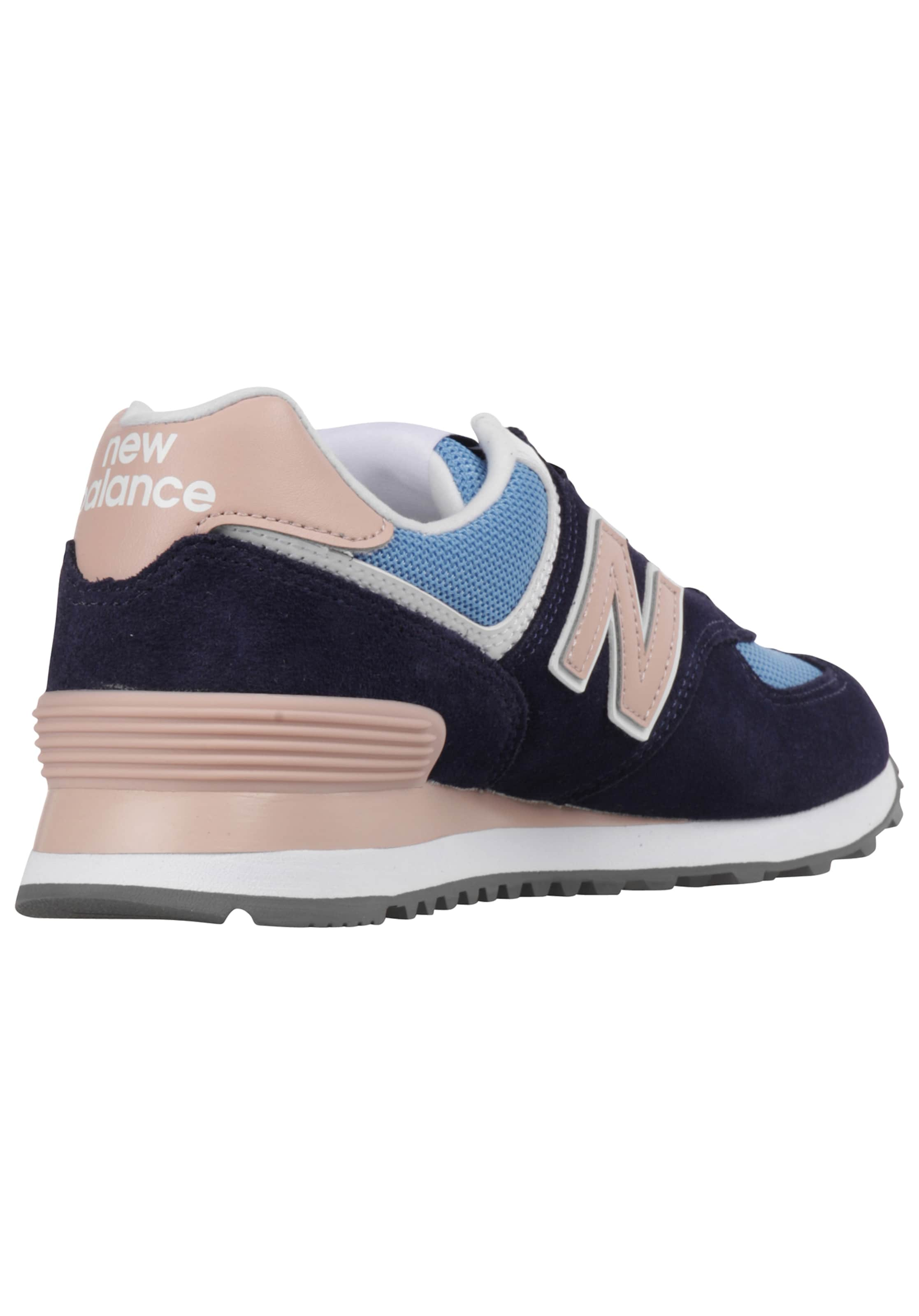 Balance New Baskets Basses MarineClair Rose En Bleu WED9IH2