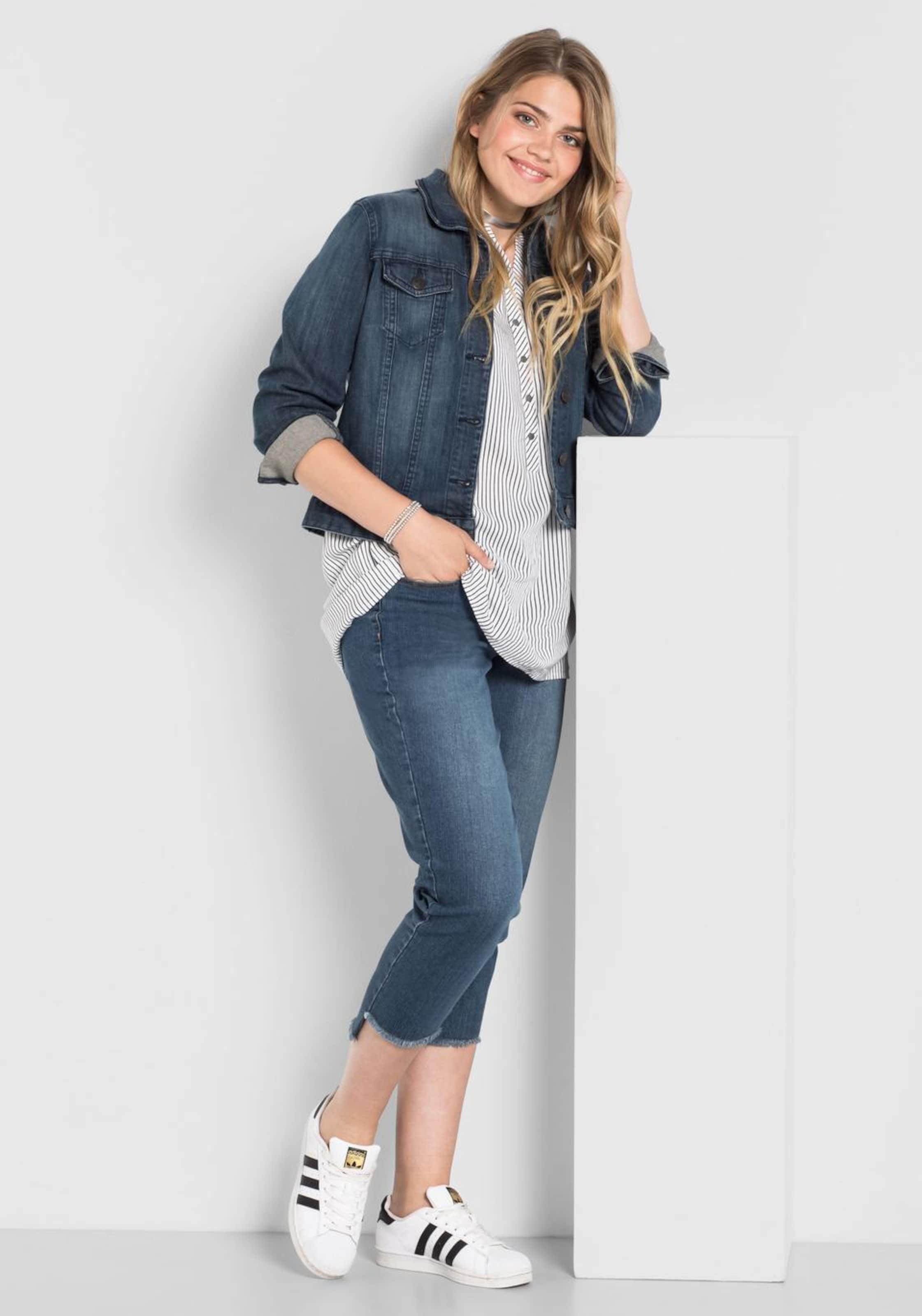 jeans In Blue Sheego Stretch Denim LScRq54Aj3