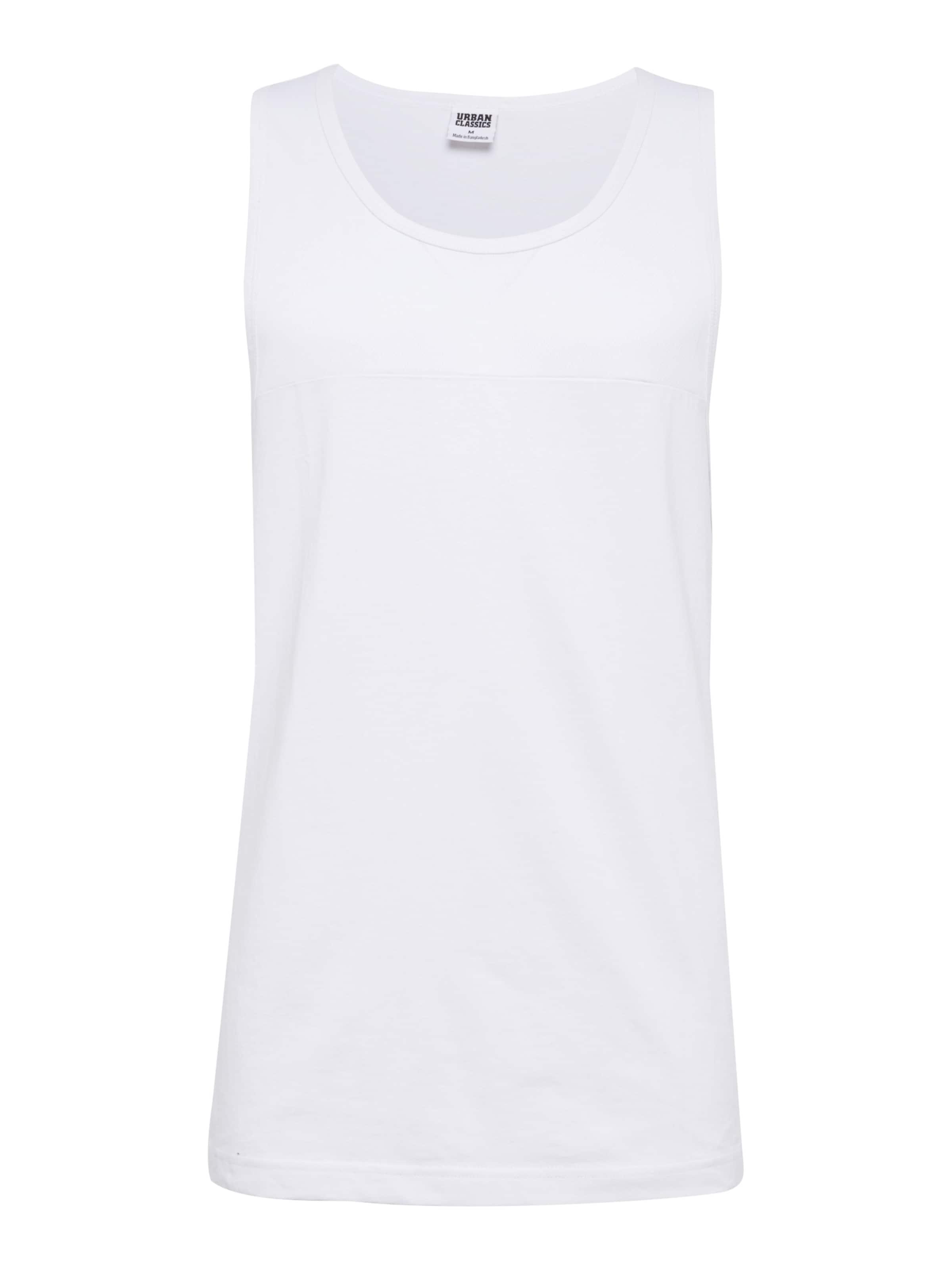 Panel 'mesh Blanc Urban Tank' En Classics T shirt TFcl3K1J