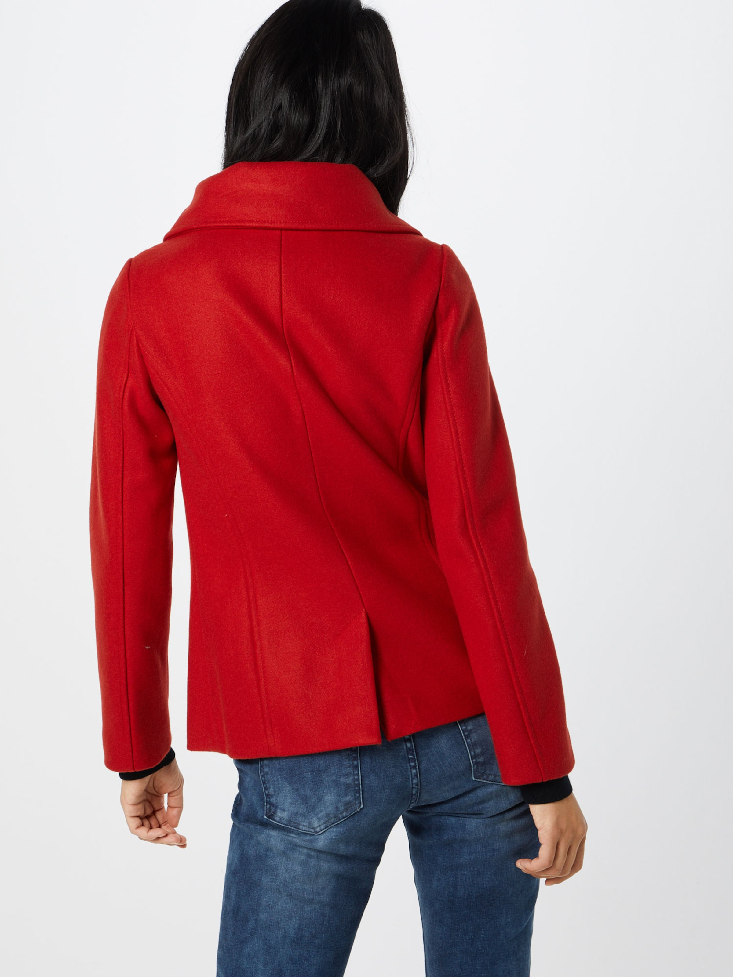 Label Hellrot Red Jacke In S oliver JTFKl1c