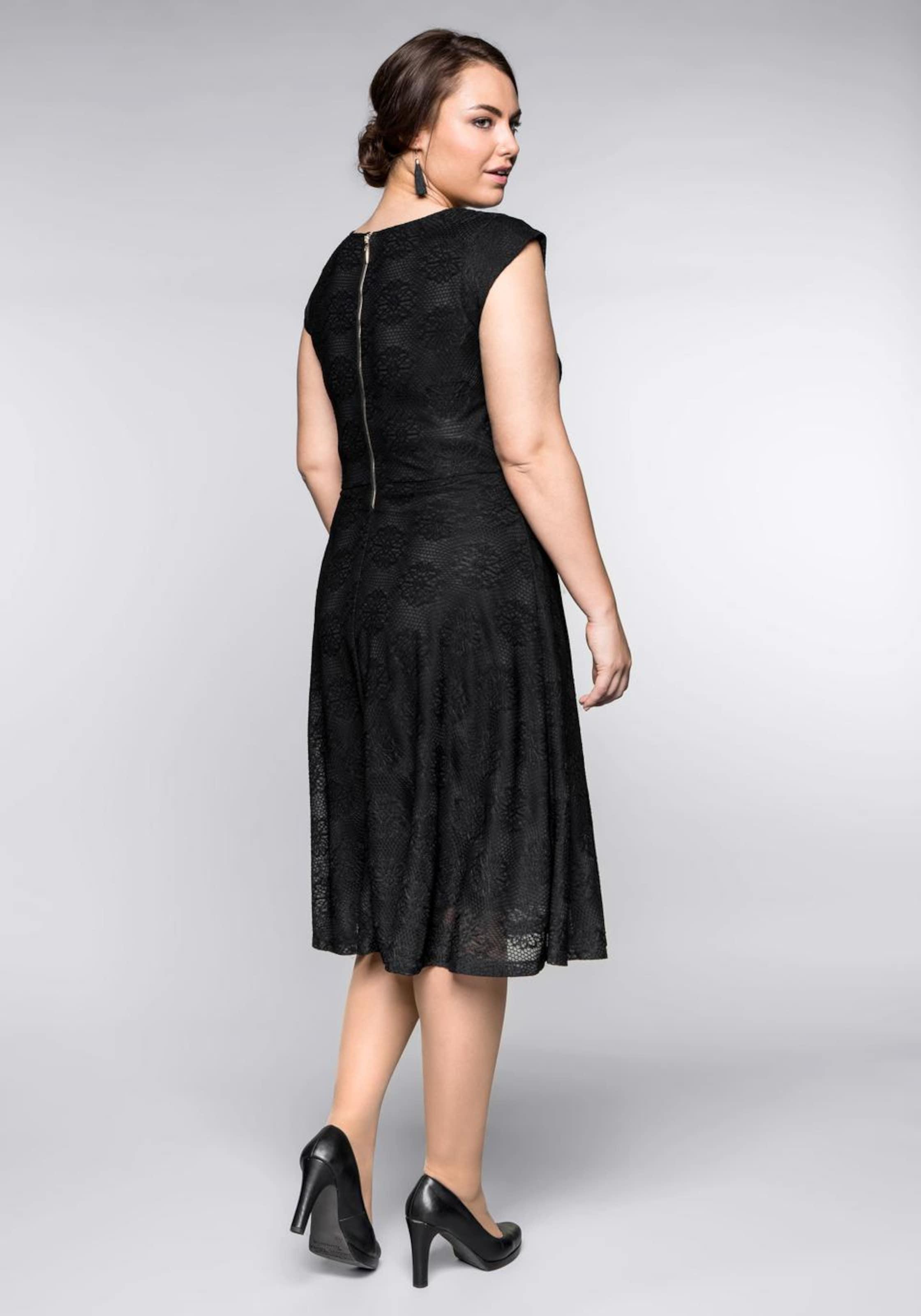 Style Kleid Sheego Style Sheego In In Schwarz Kleid qpSMUzV