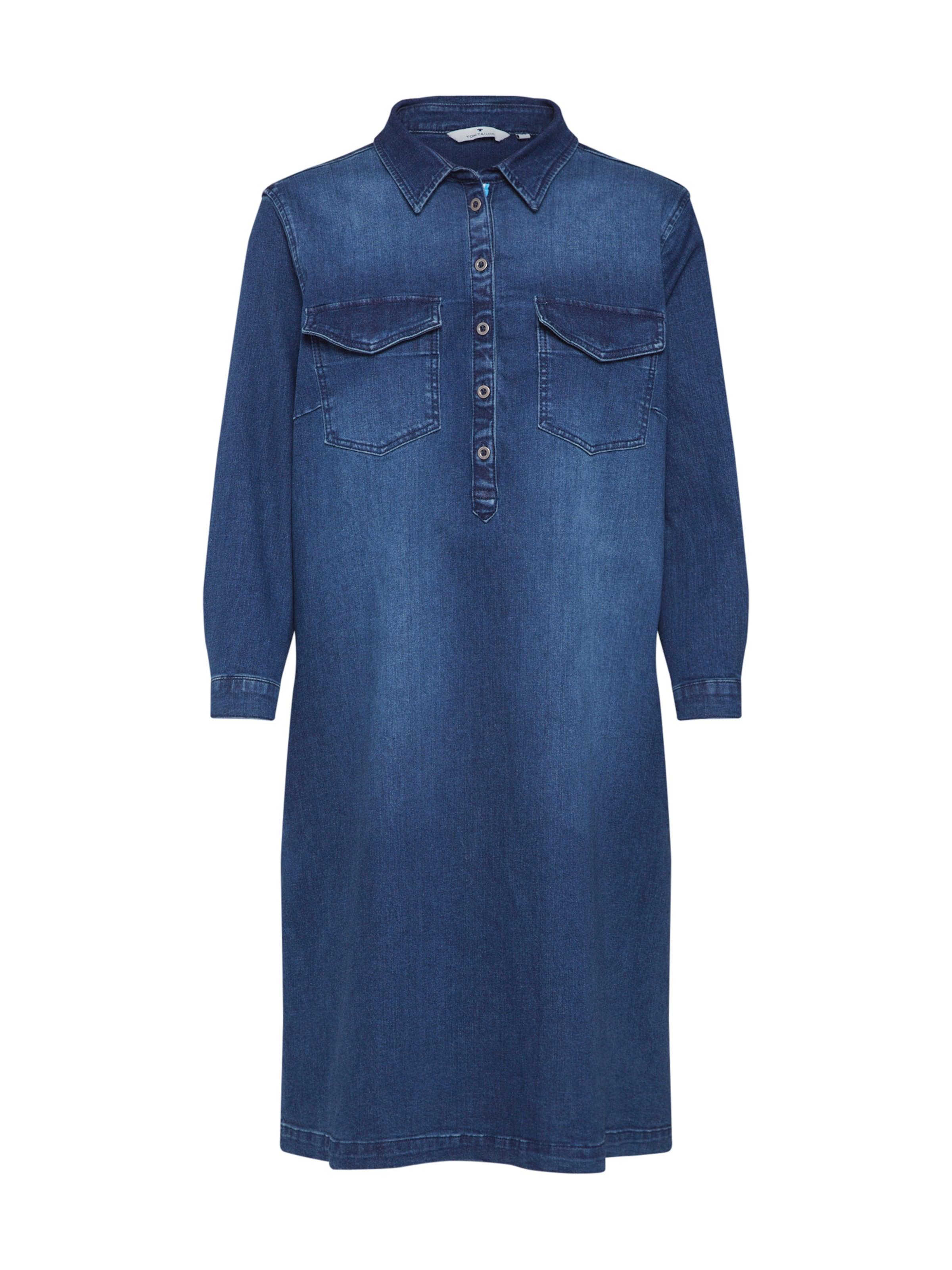 En Bleu Denim Tom Robe chemise Tailor wnPkO80