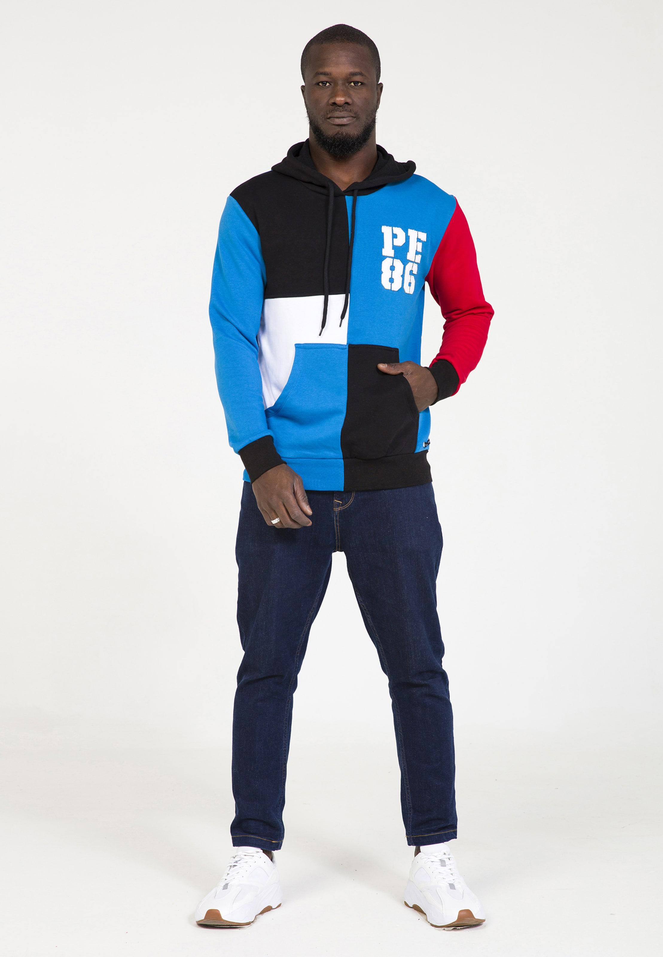 Eighteen Plus Bleu Sweat ClairRouge shirt En Blanc TPkXOiuZwl
