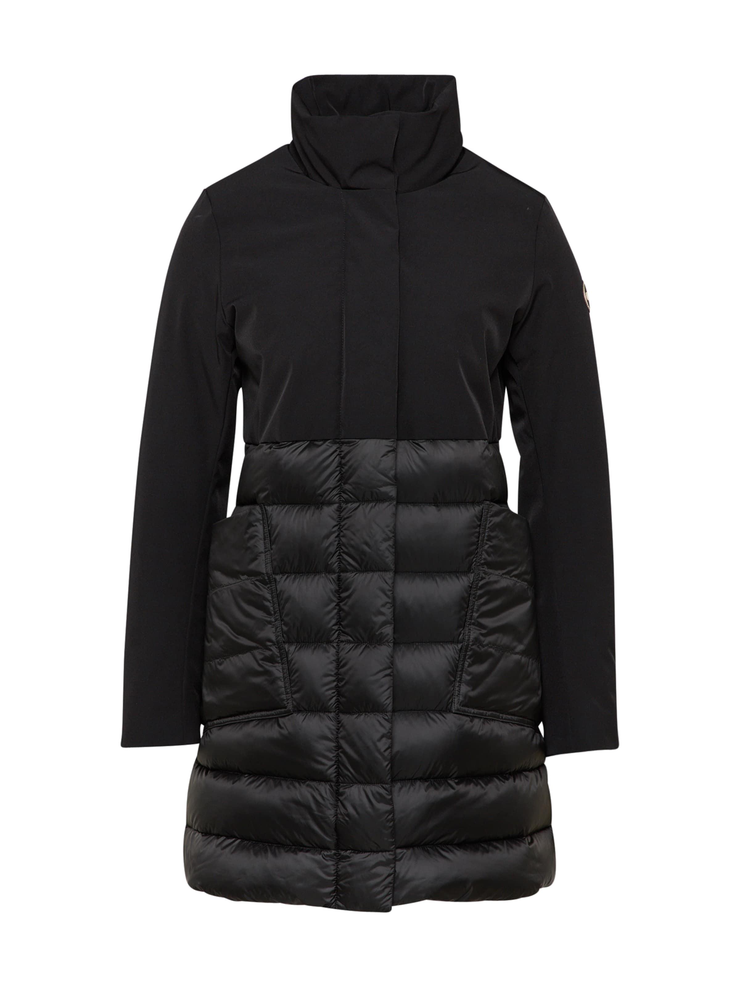 Colmar Piuma Noir Manteau Mi Donna' saison 'giacche En IfyY6b7gv