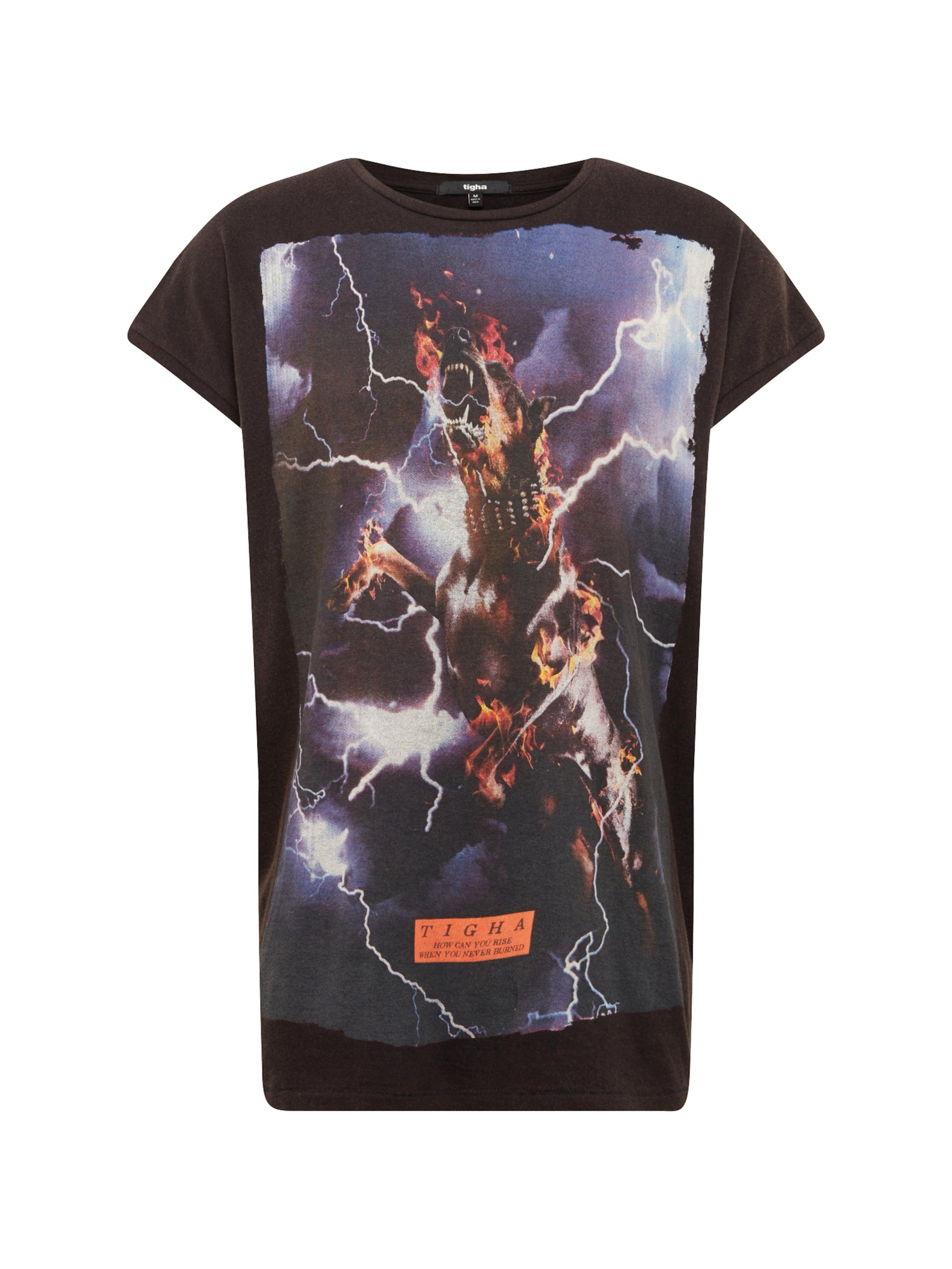 Dog T Msn' Tigha En shirt 'burning Noir UVzSMpq
