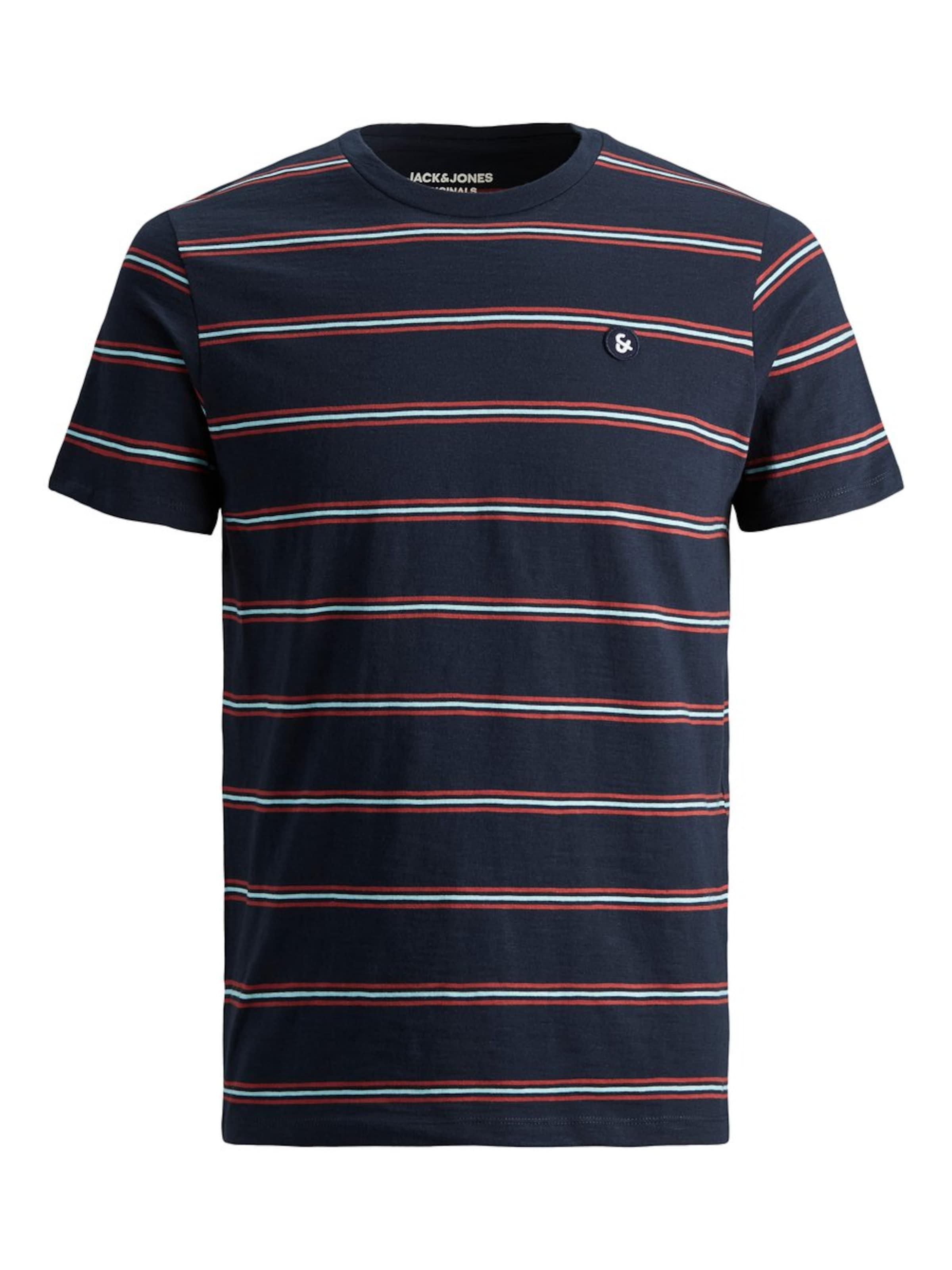 BleuSafran Jackamp; shirt Chiné En Jones T Blanc OPwTkiXZu