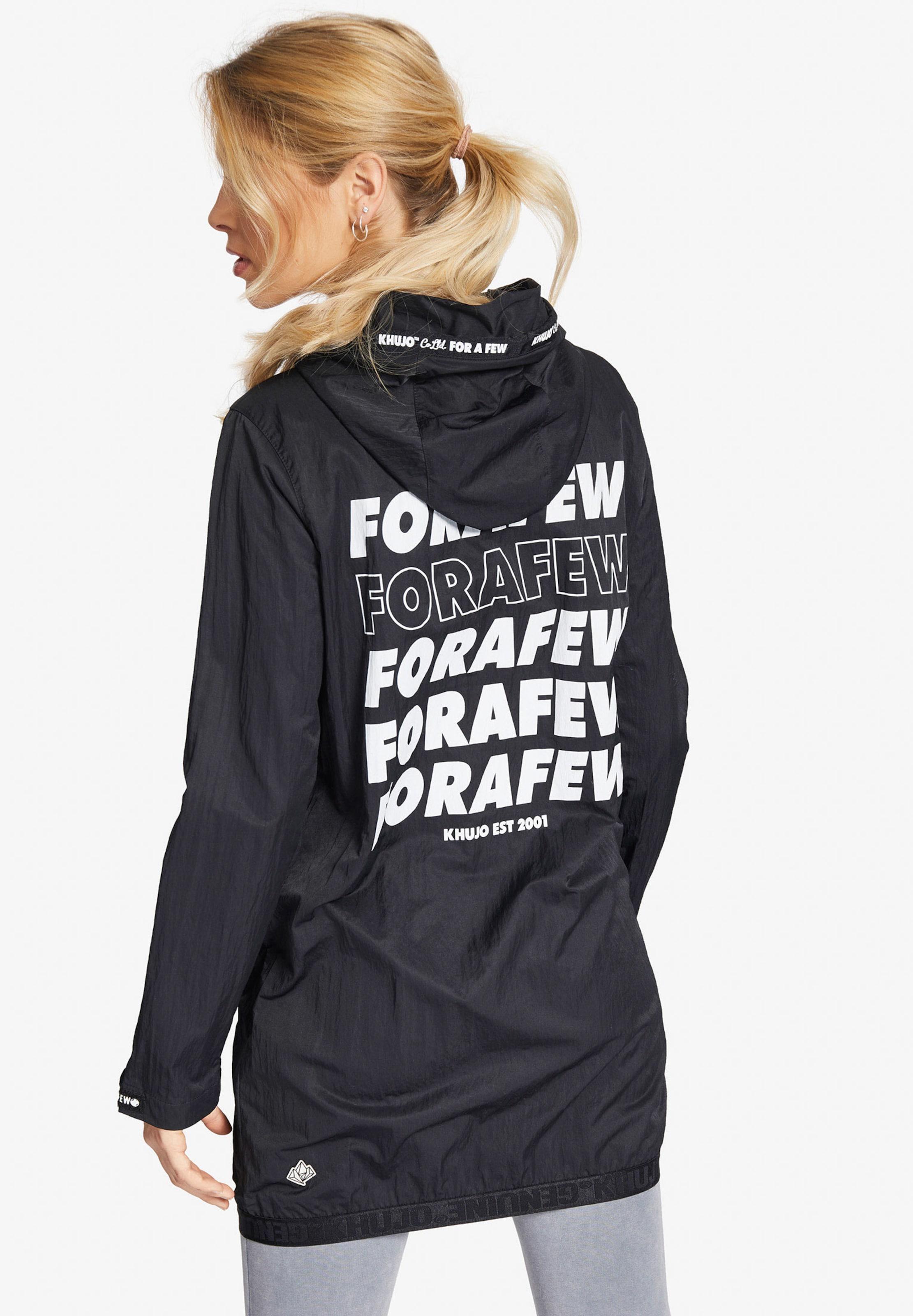 Khujo SchwarzWei 'fanni' SchwarzWei Jacke 'fanni' In Jacke Khujo In DE29IH