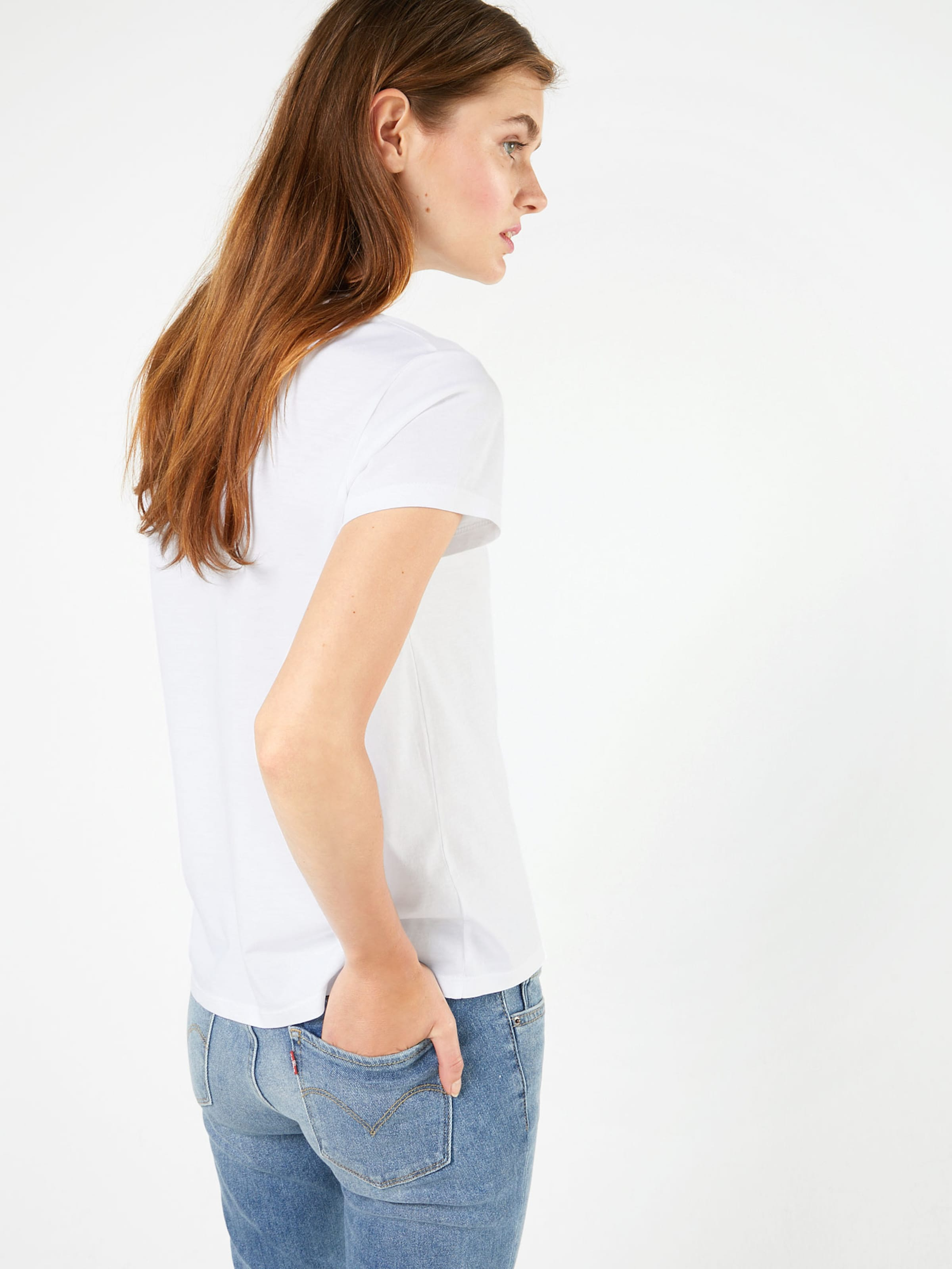 En shirt T Levi's Pocket Blanc 'the Perfect Tee' 1cFKJlT