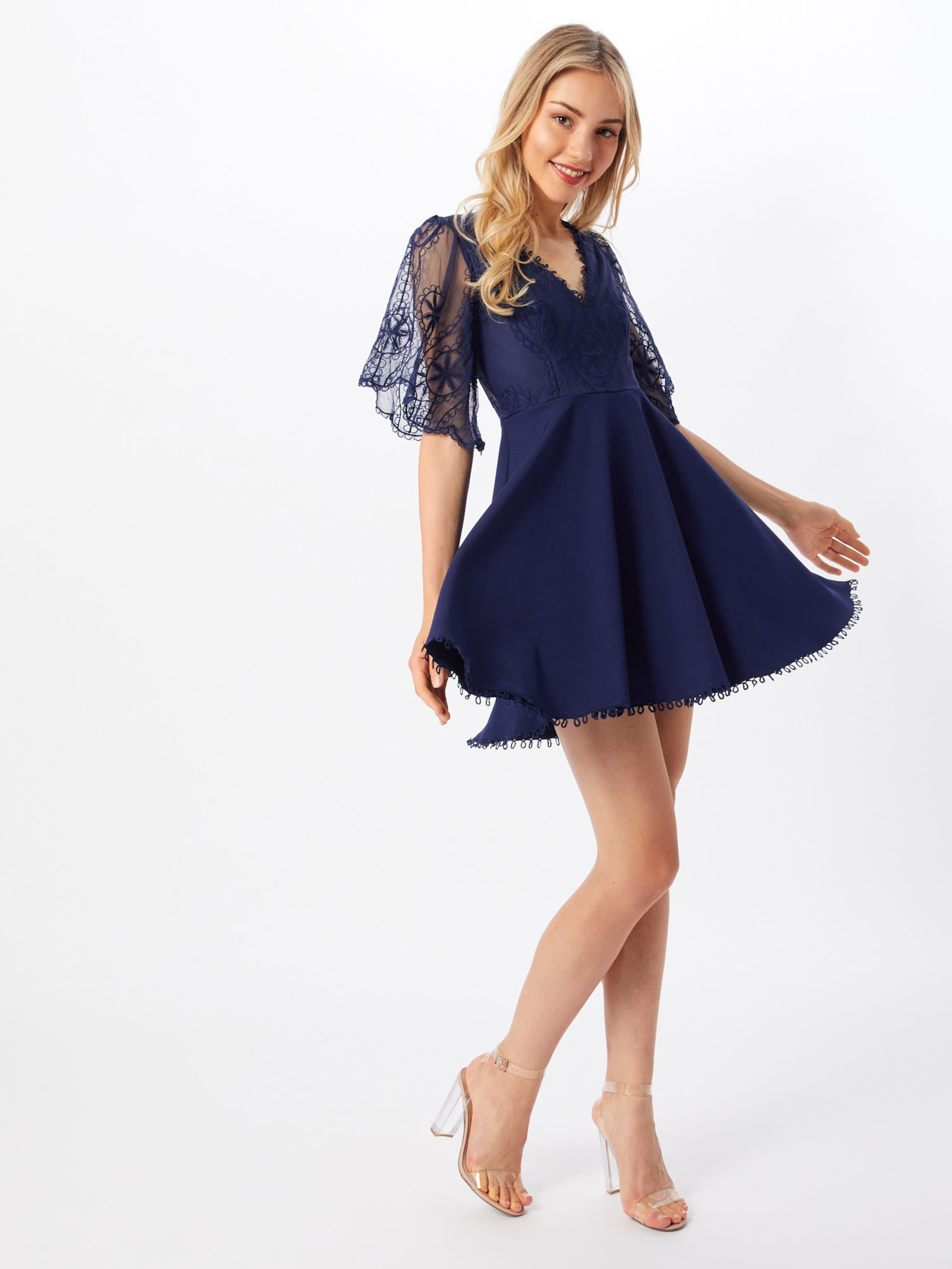 Robe Rose Dress' Bleu 'english Marine Cocktail Love Triangle En De n0w8kOP