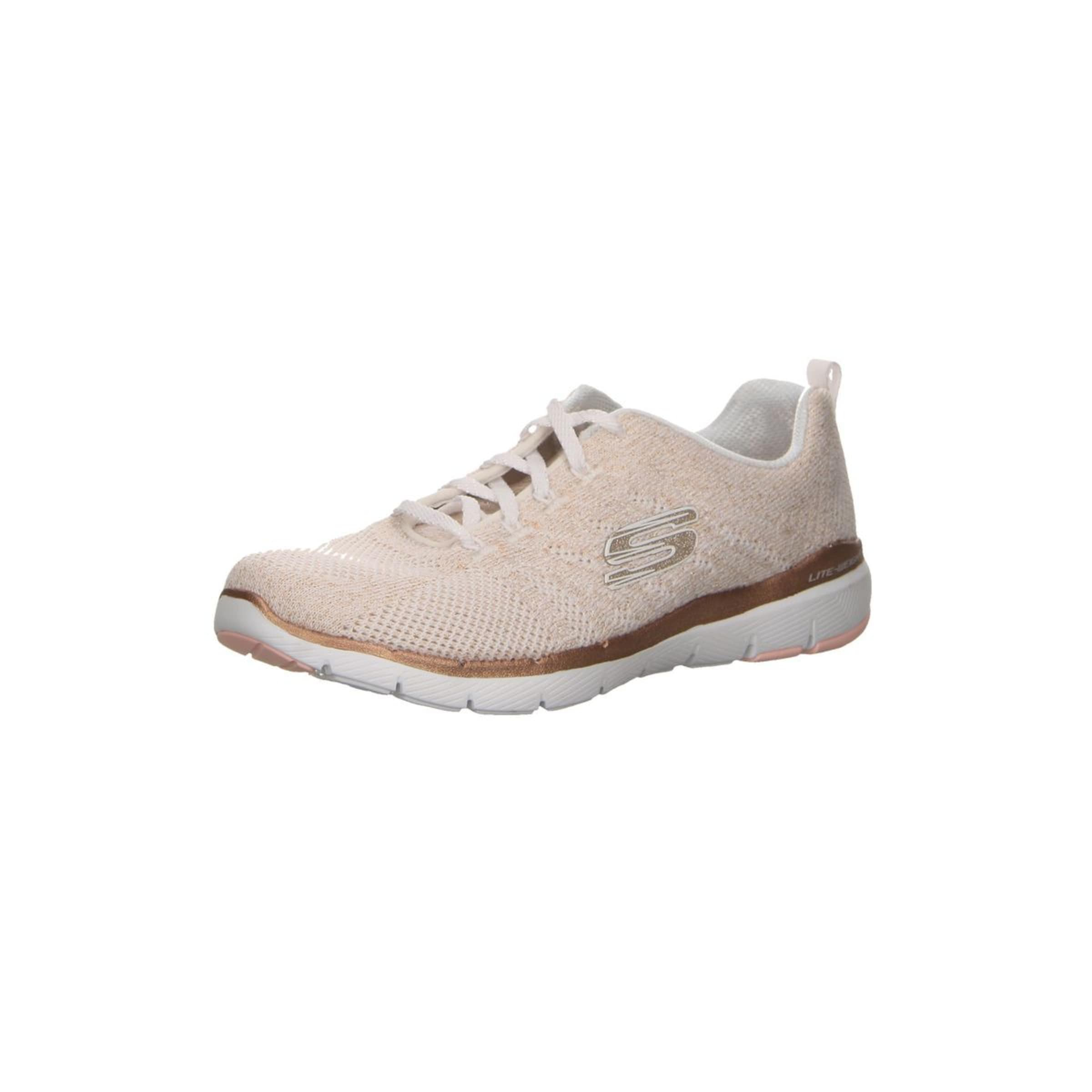 3 'flex En RoseBlanc Or Skechers 0' Baskets Appeal Basses QtsxdrohCB