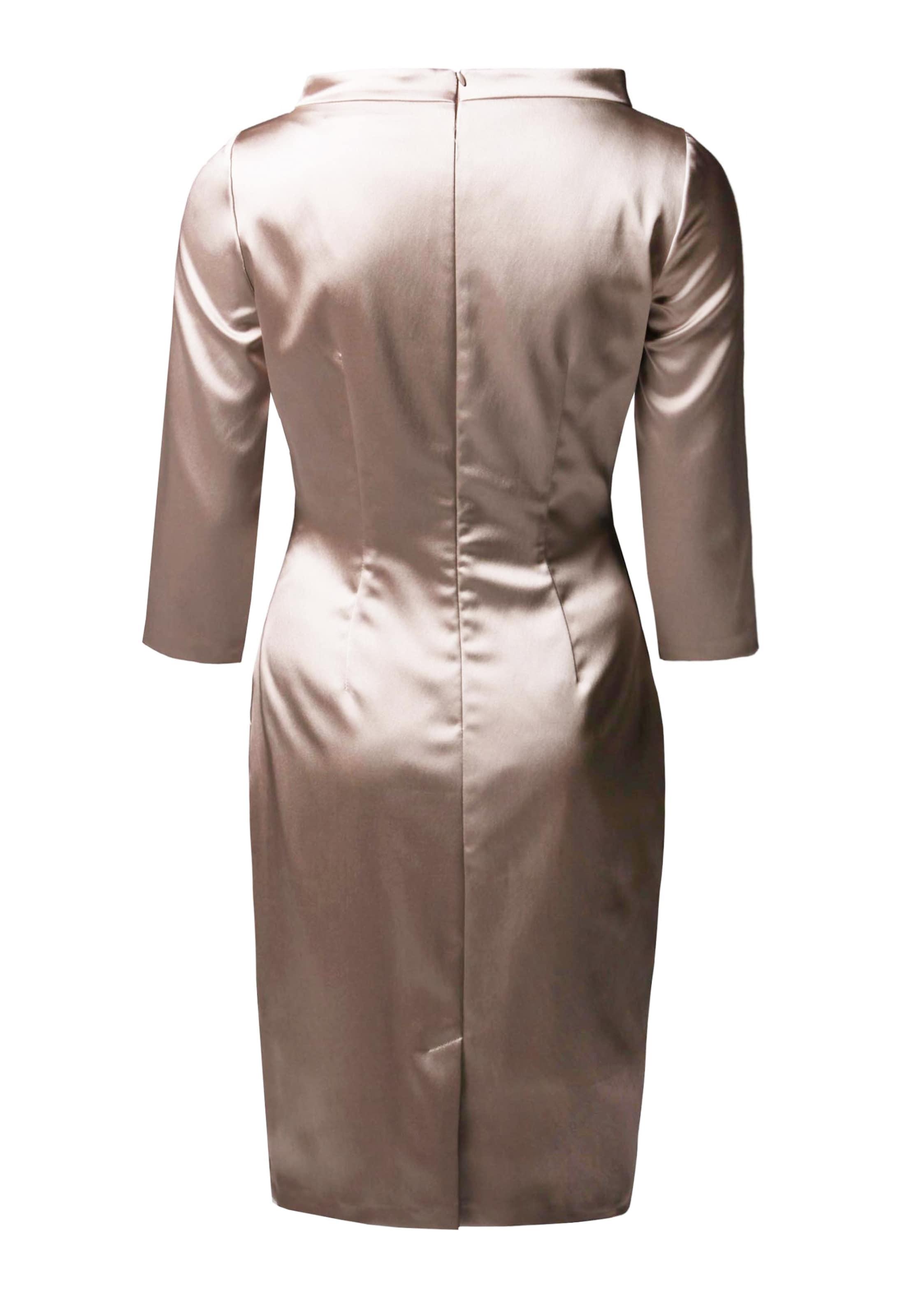 By Barbara BeigeGreige Young En Schwarzer Fourreau Robe Couture hotQsCrdxB