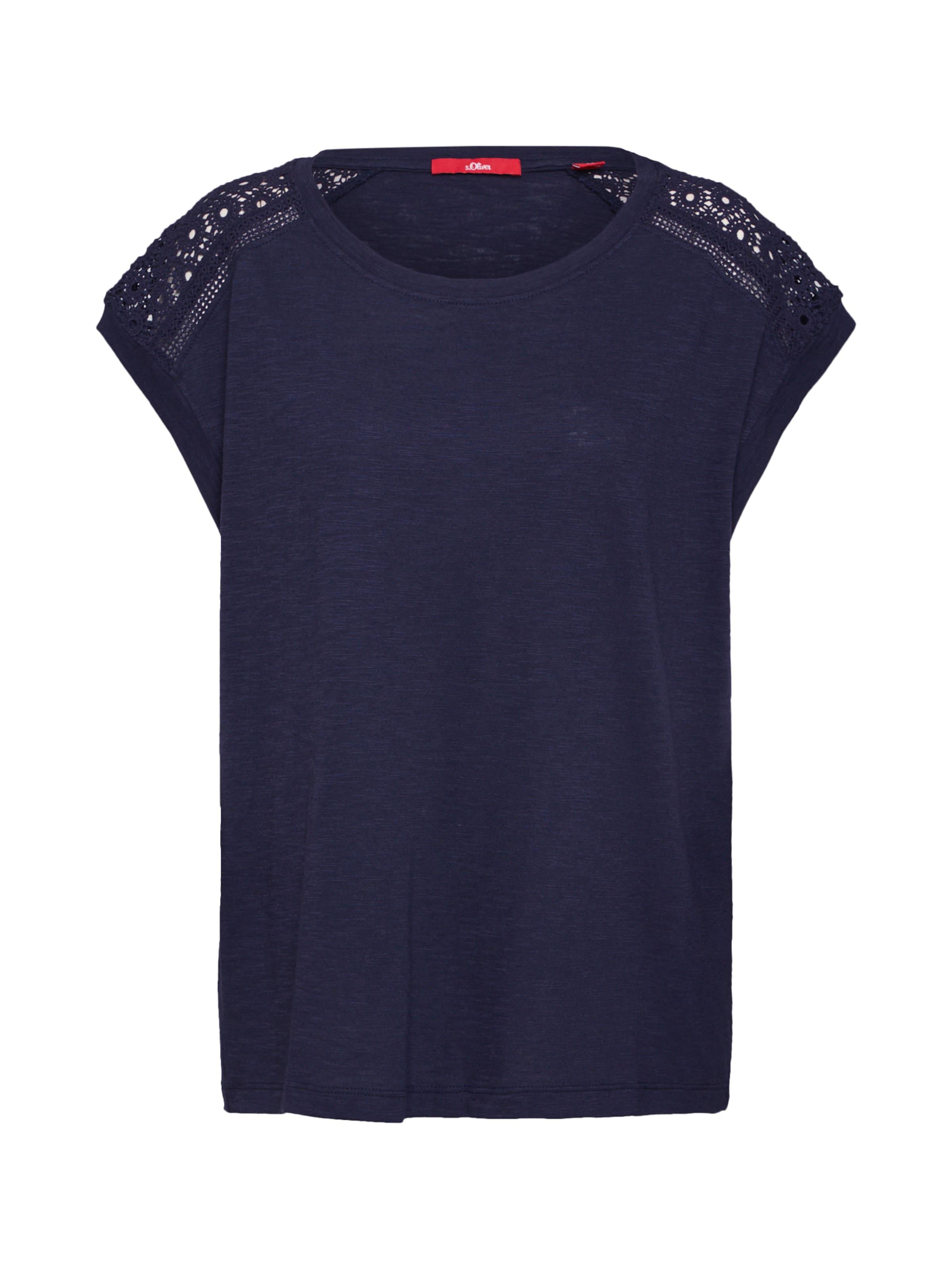 S Label oliver En Red Foncé shirt T Vert EHYW9D2I