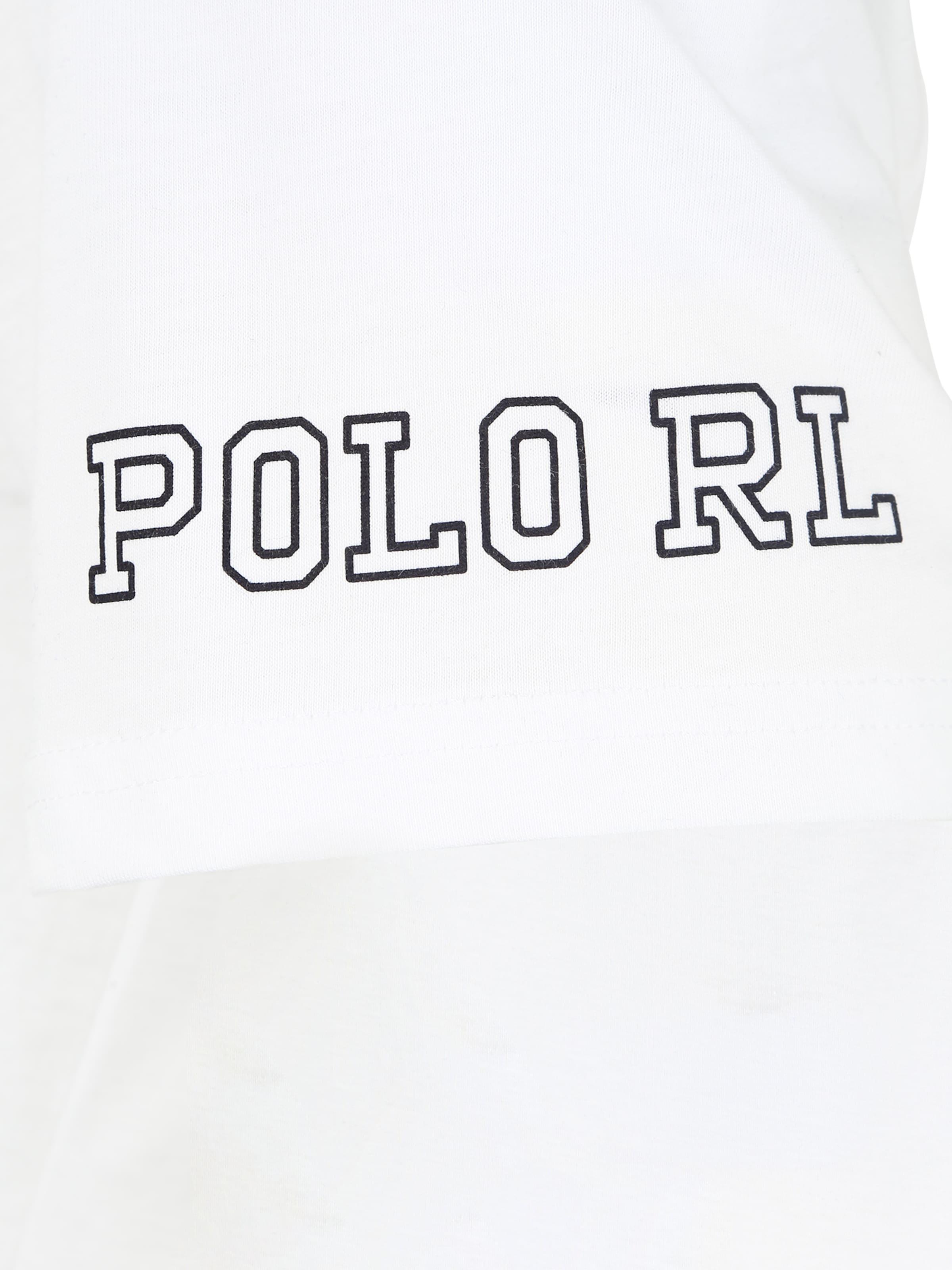 Ralph Corps s crew Lauren 's En De Polo sleep Blanc Maillot Crew Top' 7bgf6vYyI