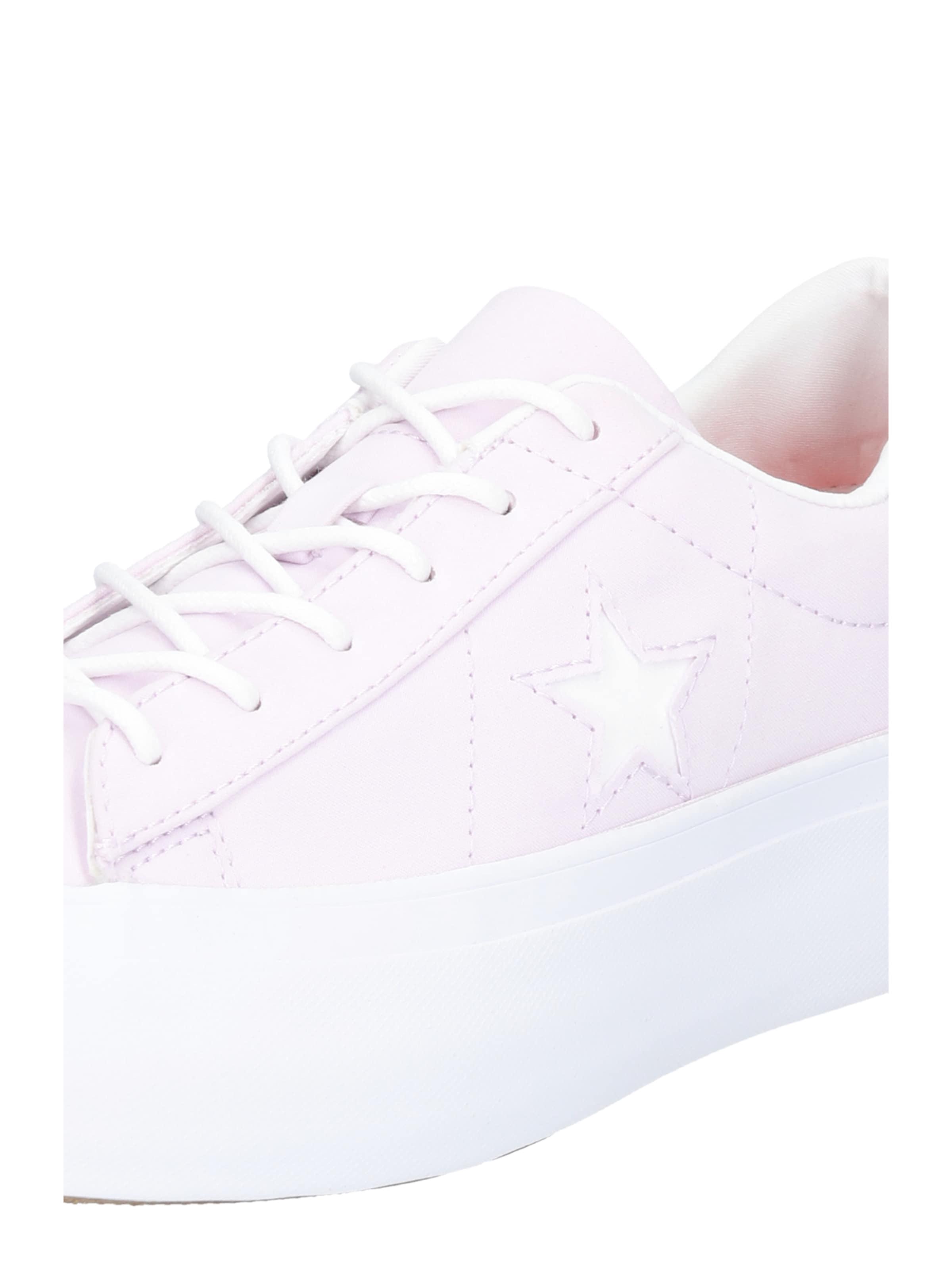 'one Basses En Converse PlatformOx' PastelFoncé Baskets Violet Star Blanc 1clFJuKT3