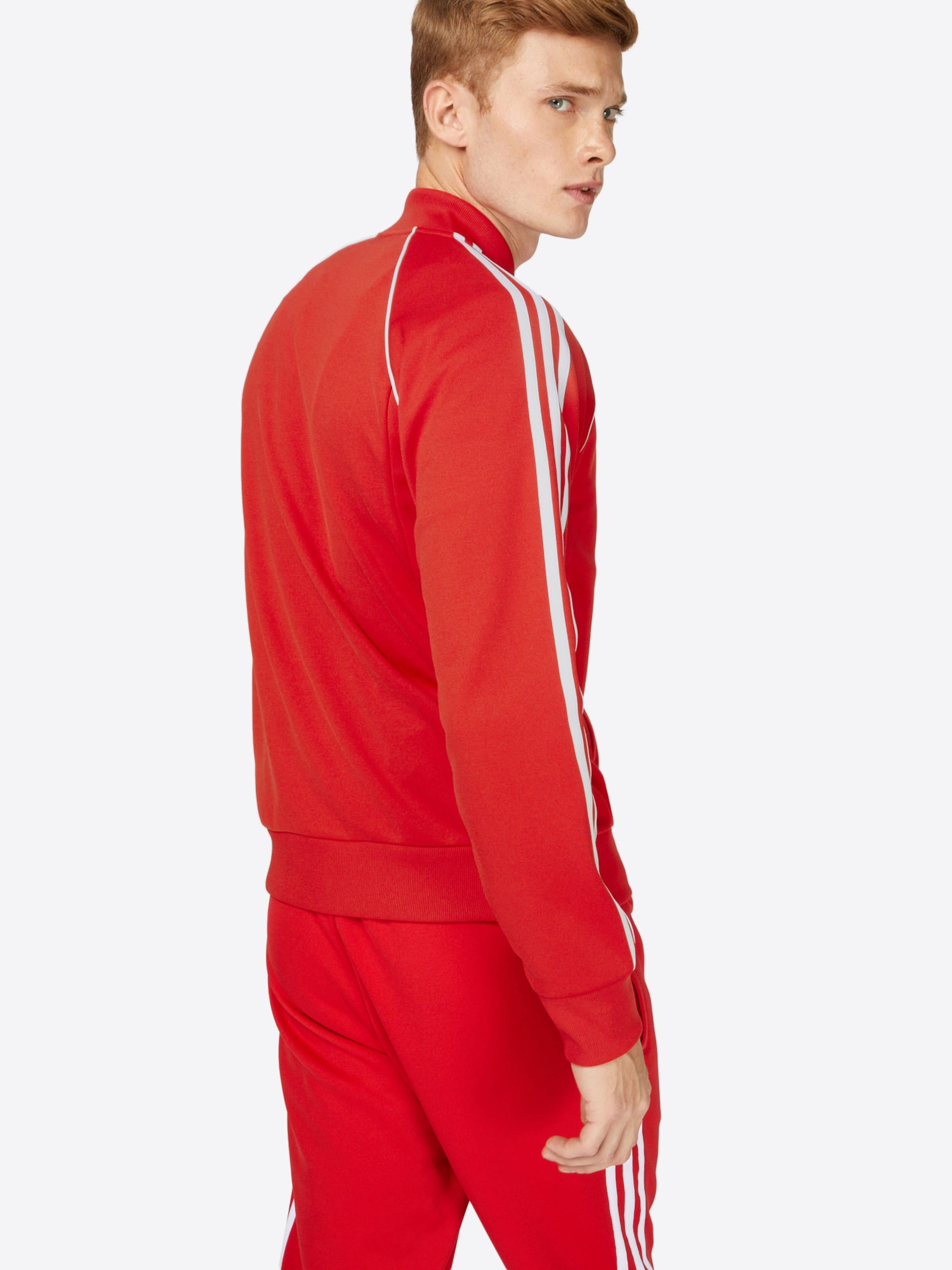 'sst saison Tracktop' Veste Mi RougeBlanc Originals Adidas En wO08Nvnm
