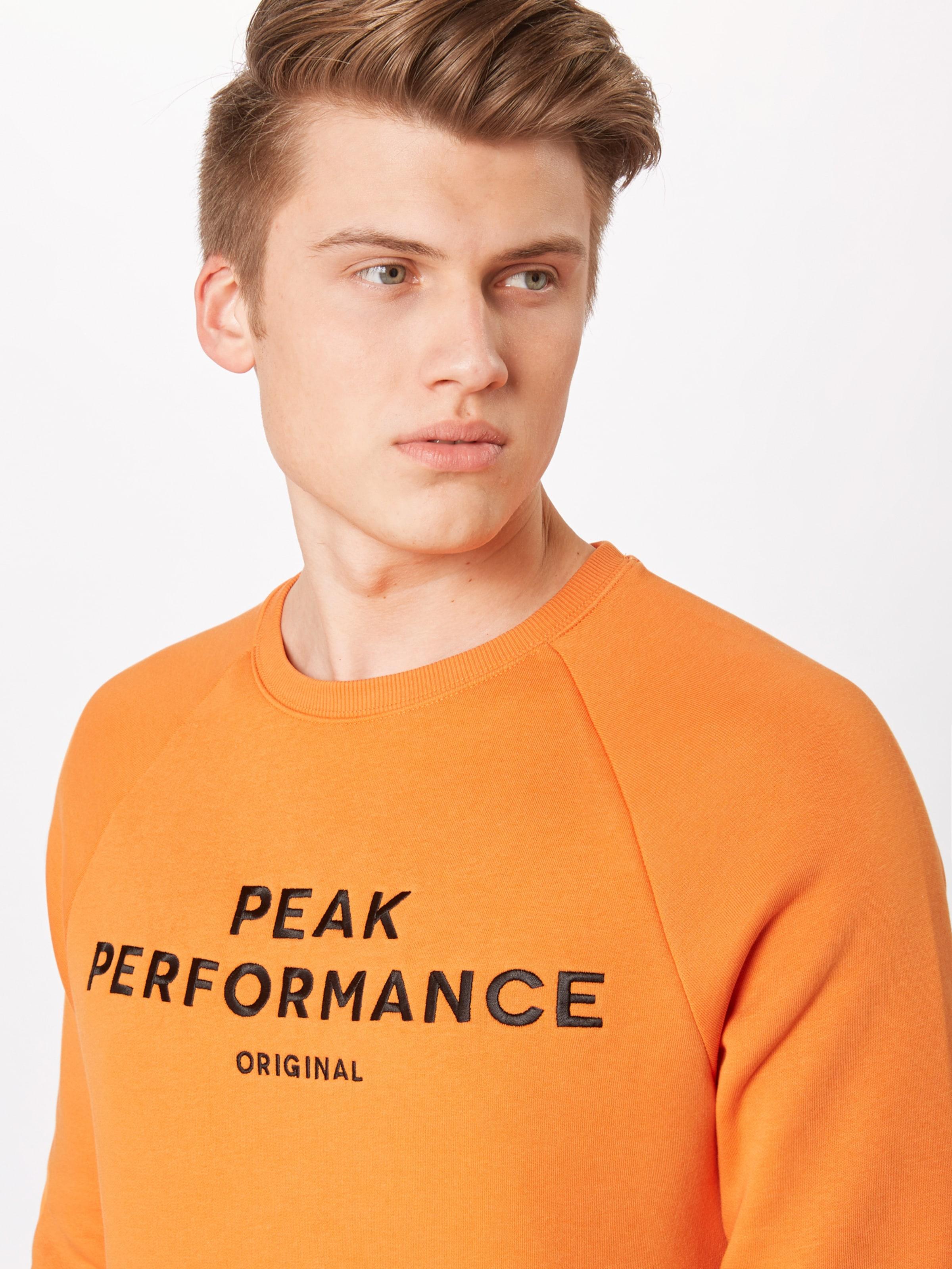 Performance Peak shirt Orange Sweat En eWIYHED29