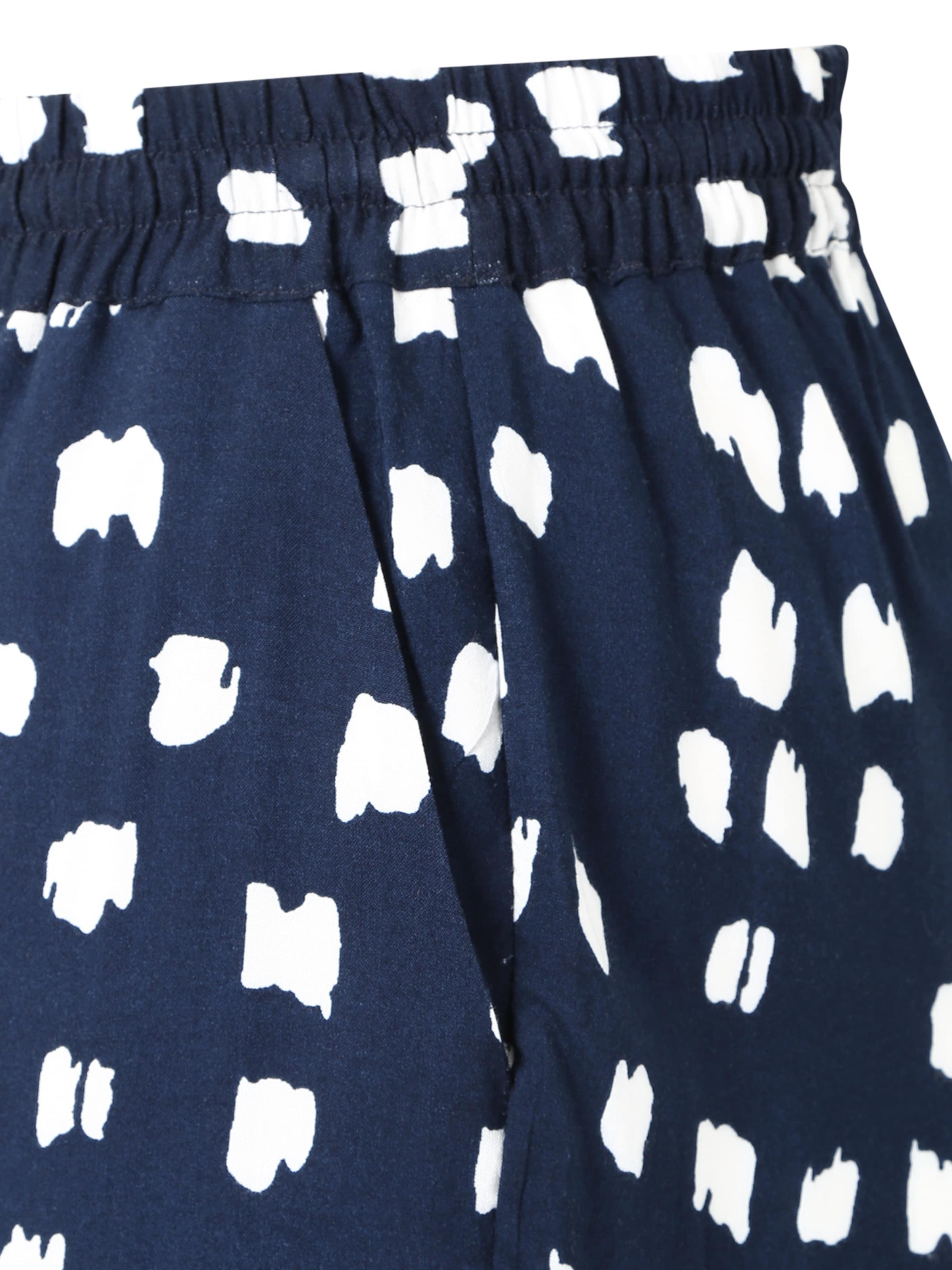 FoncéBlanc En Pantalon Bleu En Zizzi Zizzi Pantalon wOPTZXkui