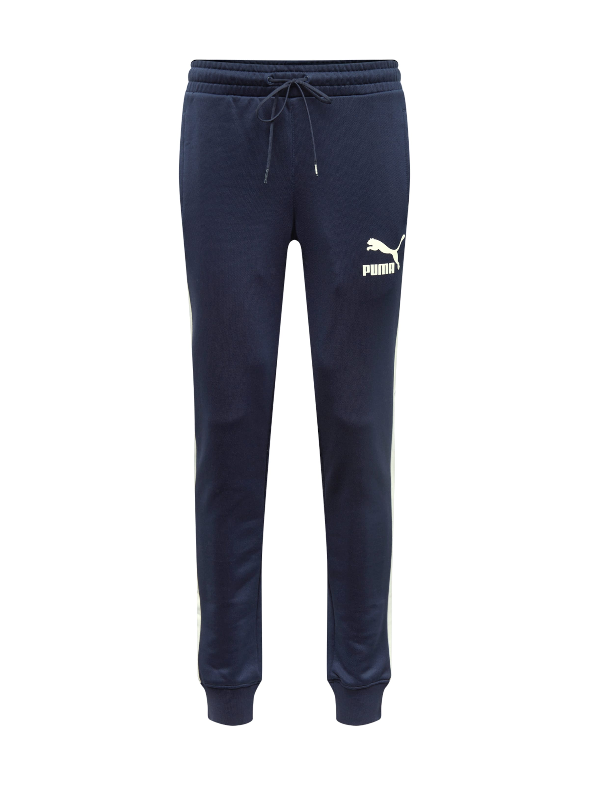 Pantalon En Puma 'iconic NuitJaune Bleu T7 Cuff' Aq4RjLc35